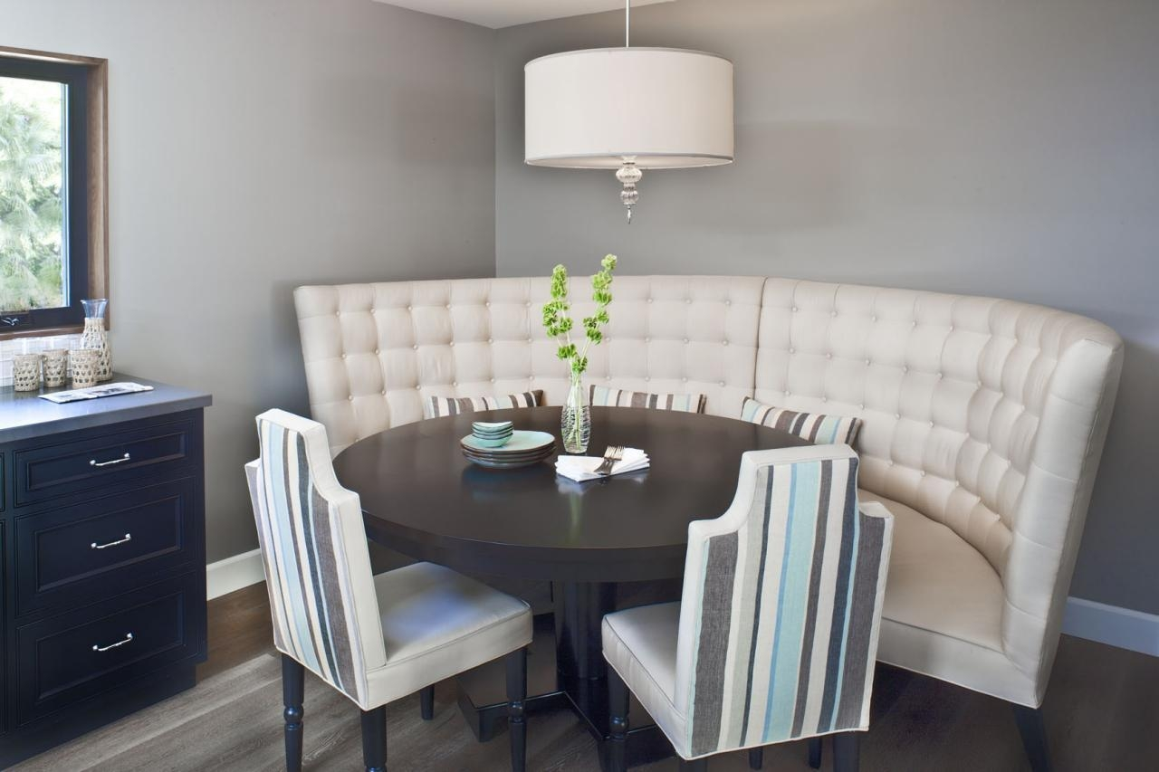 Dining Room Settee (Image 7 of 20)