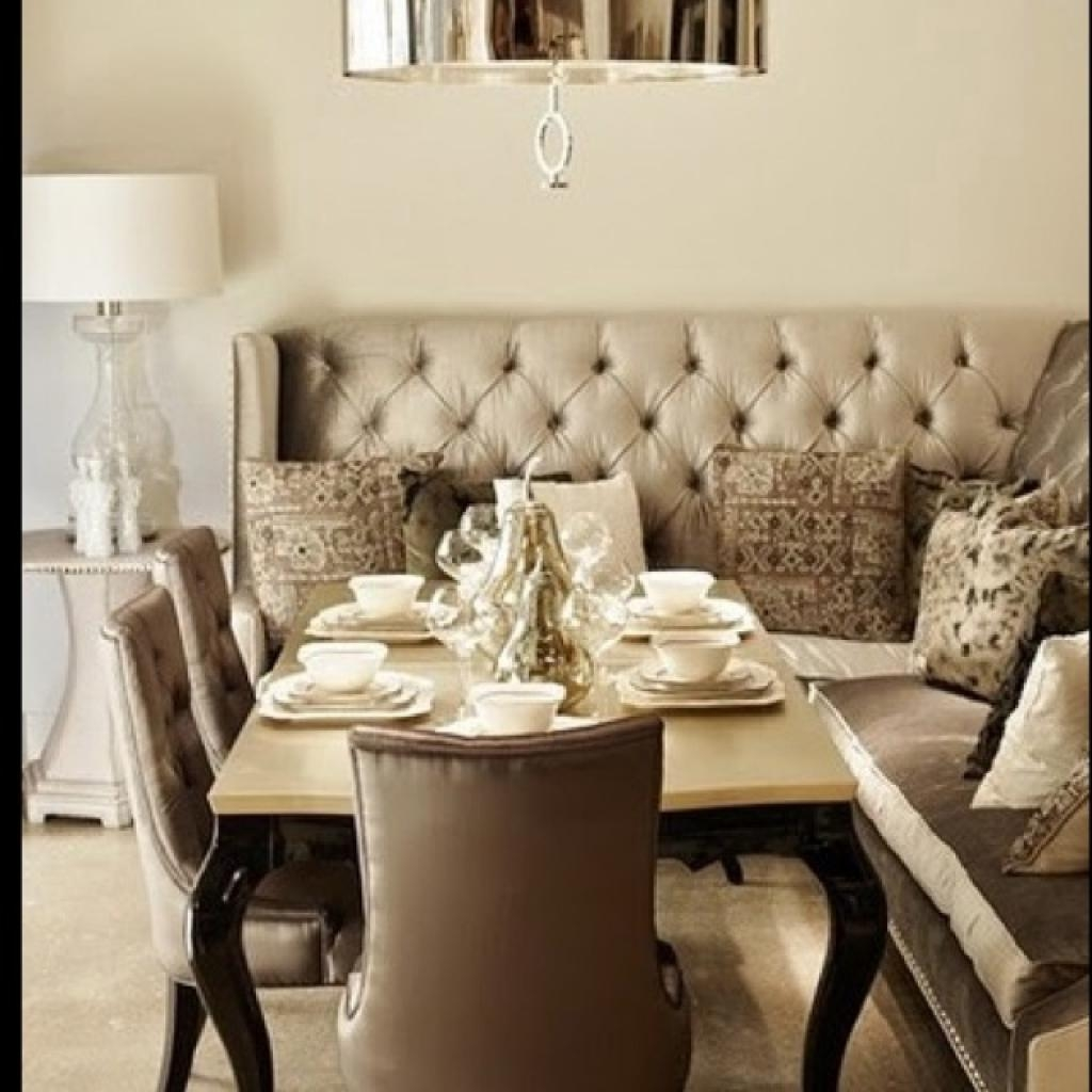 Dining Room Table With Sofa Seating Dining Table With Couch Intended For Dining Room Bench Sofas (Image 9 of 20)