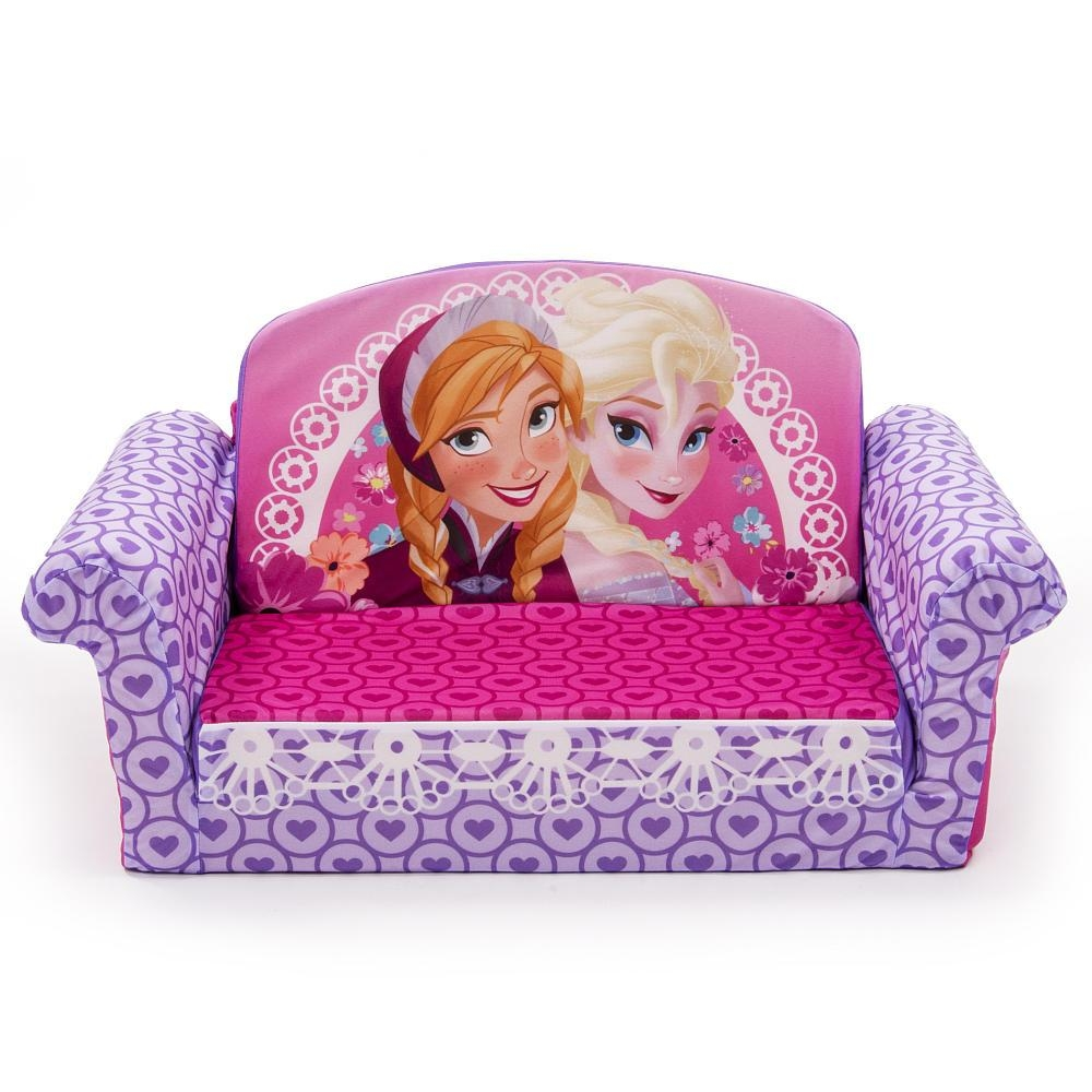 Disney Flip Open Sofa – Leather Sectional Sofa With Regard To Flip Out Sofa Bed Toddlers (Image 3 of 20)