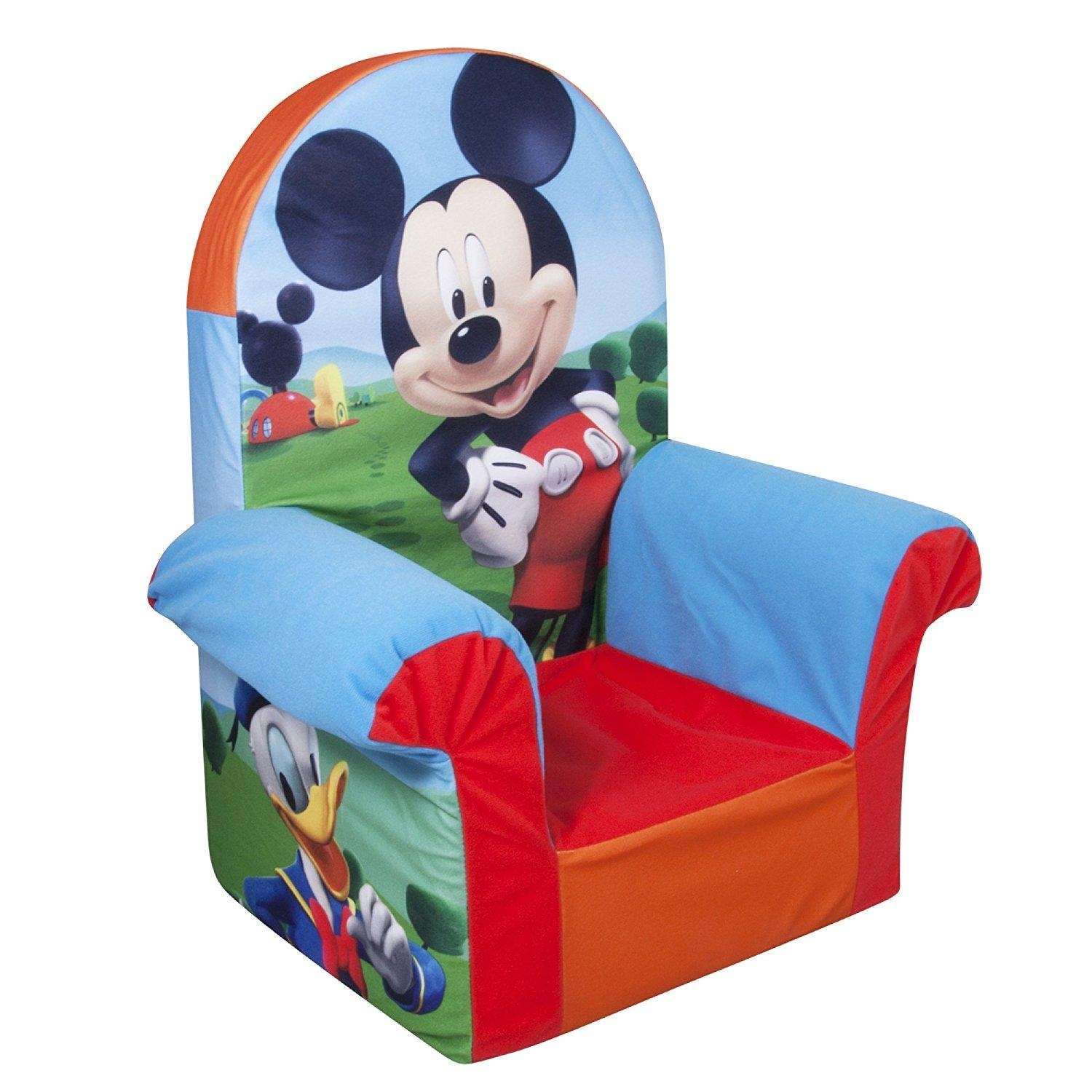Disney Mickey Mouse Clubhouse Toddler Sofa Chair And Ottoman In Mickey Mouse Clubhouse Couches (View 13 of 20)