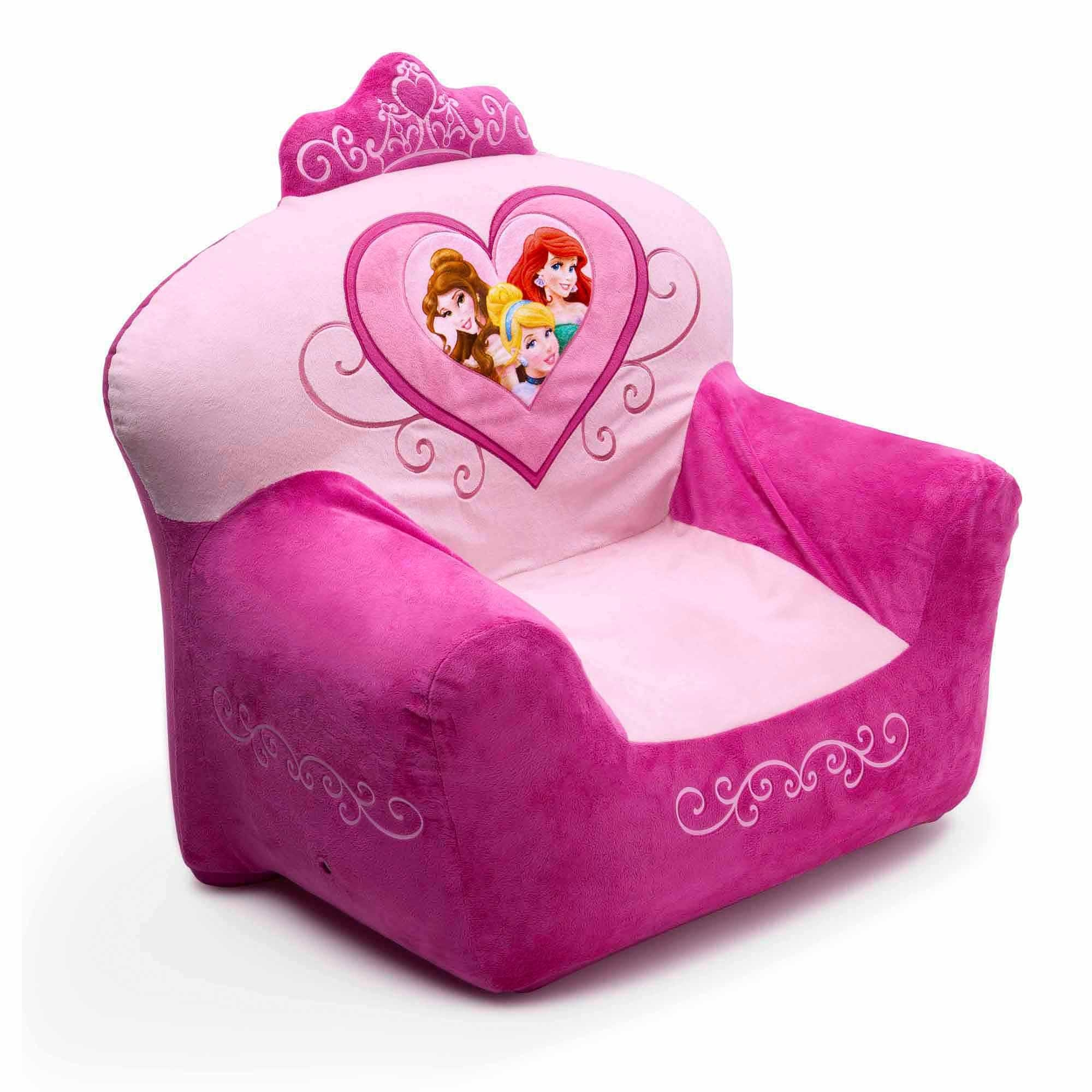 Disney Princess Club Chair – Walmart Throughout Disney Sofa Chairs (View 6 of 20)