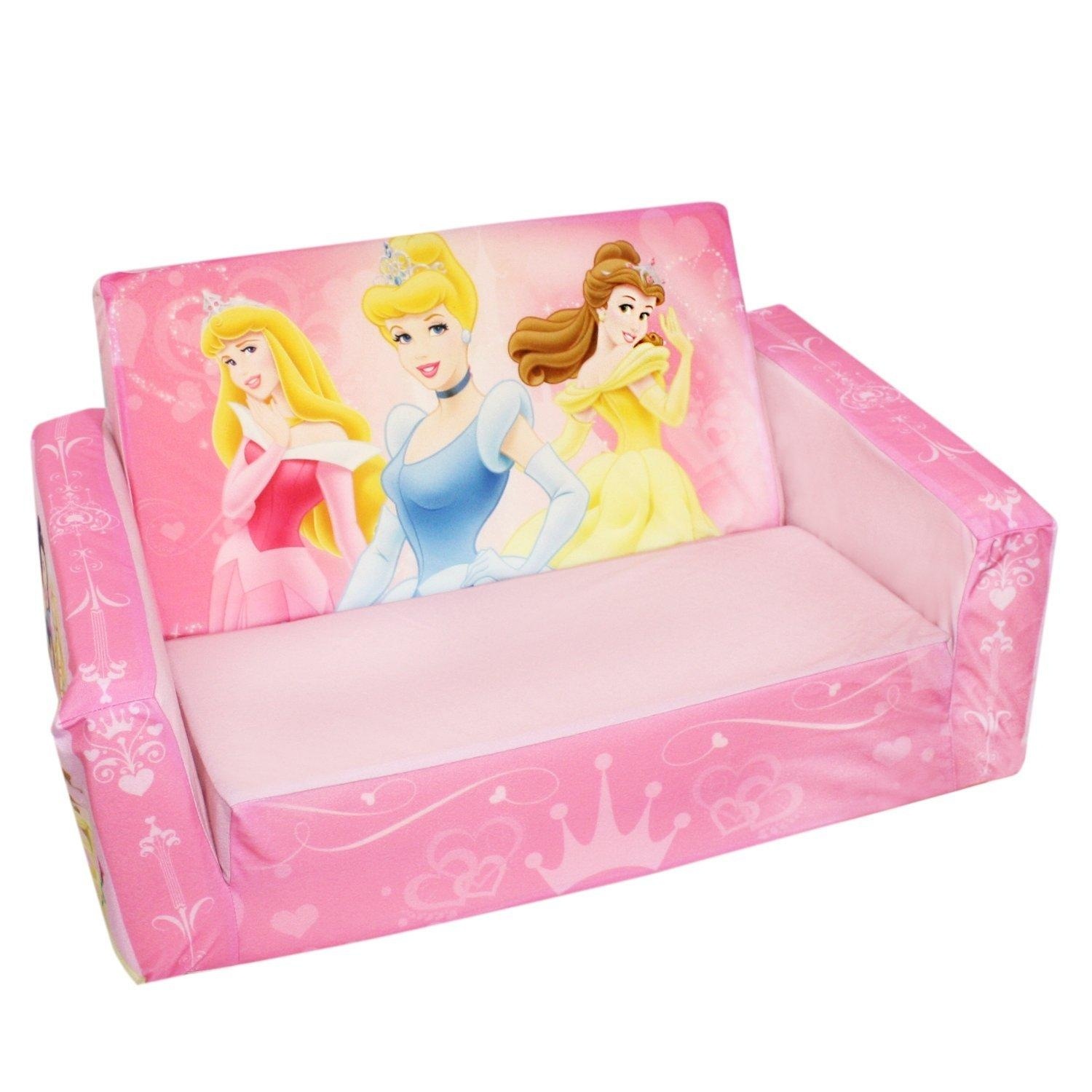 Disney Princess Fold Out Couch — Readingworks Furniture : Fold Out Regarding Disney Princess Couches (Image 3 of 20)