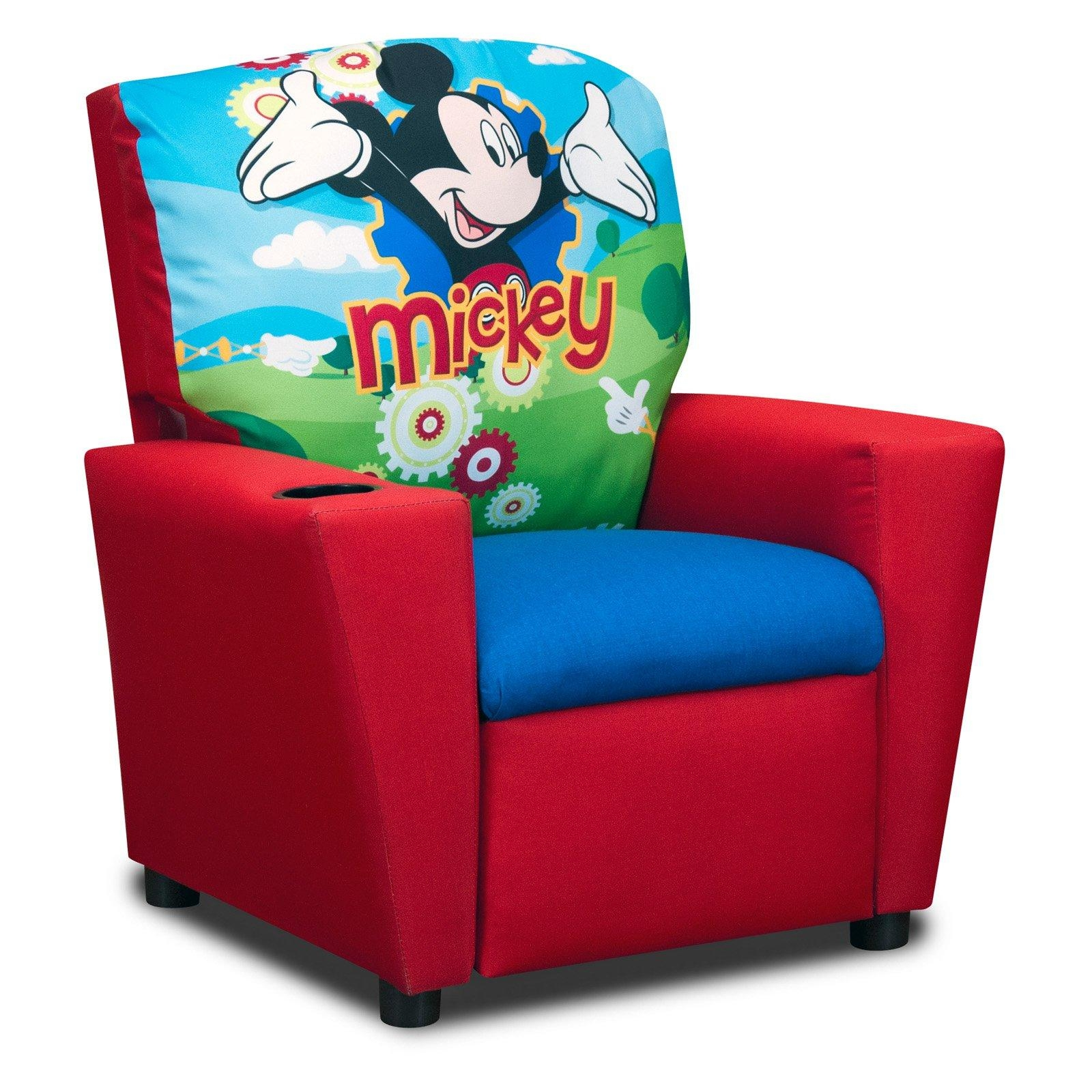 Disneys Mickey Mouse Clubhouse Recliner – Walmart With Regard To Mickey Mouse Clubhouse Couches (View 5 of 20)