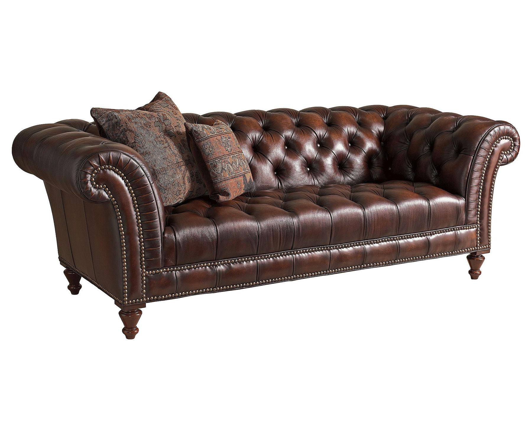 Distressed Leather Sofa Ebay | Tehranmix Decoration Throughout Victorian Leather Sofas (Image 3 of 20)