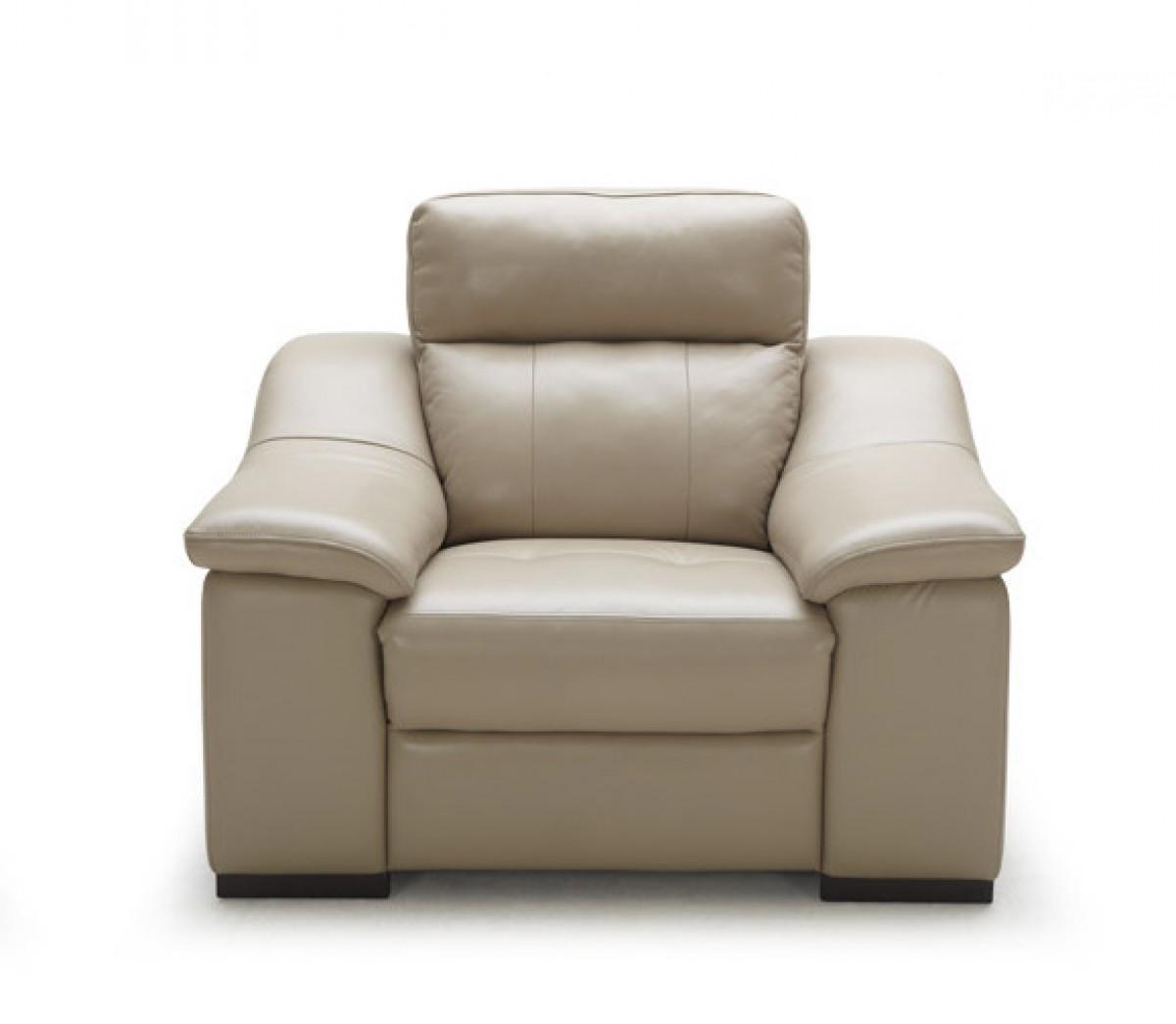 Divani Casa Saffron – Modern Beige Leather Sofa Set – Sofas Inside Beige Leather Couches (View 13 of 20)