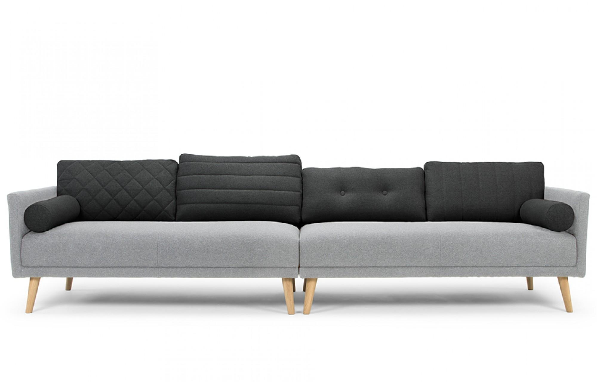 Dixie Mix 4 Seater Sofa Out And Out Original For Four Seater Sofas (Image 7