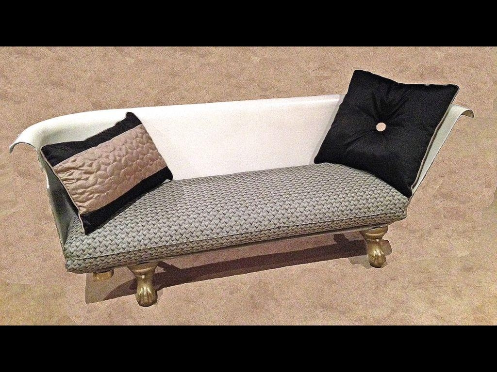 Diy Clawfoot Bathtub Couch: 34 Steps (With Pictures) Inside Clawfoot Tub Sofas (View 6 of 20)