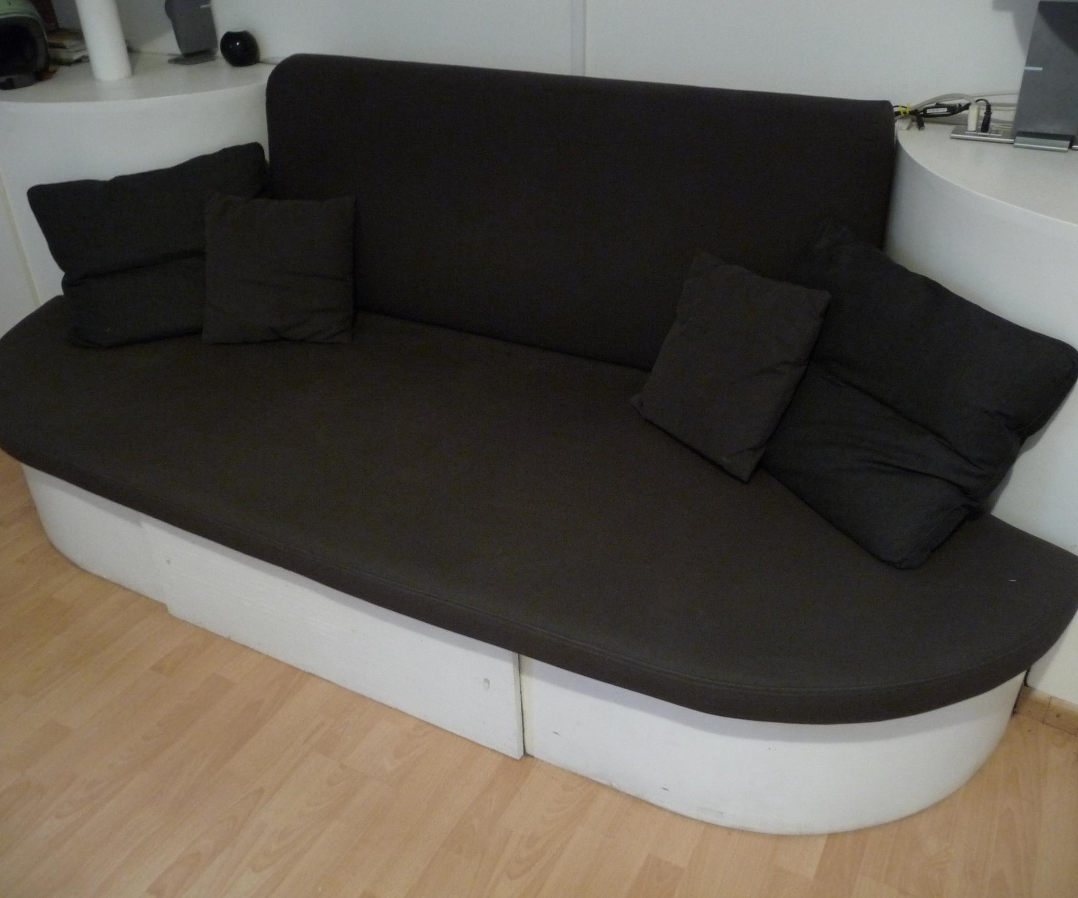 Diy Stylish Sofa Bed: 7 Steps (With Pictures) Inside Giant Sofa Beds (Image 6 of 20)