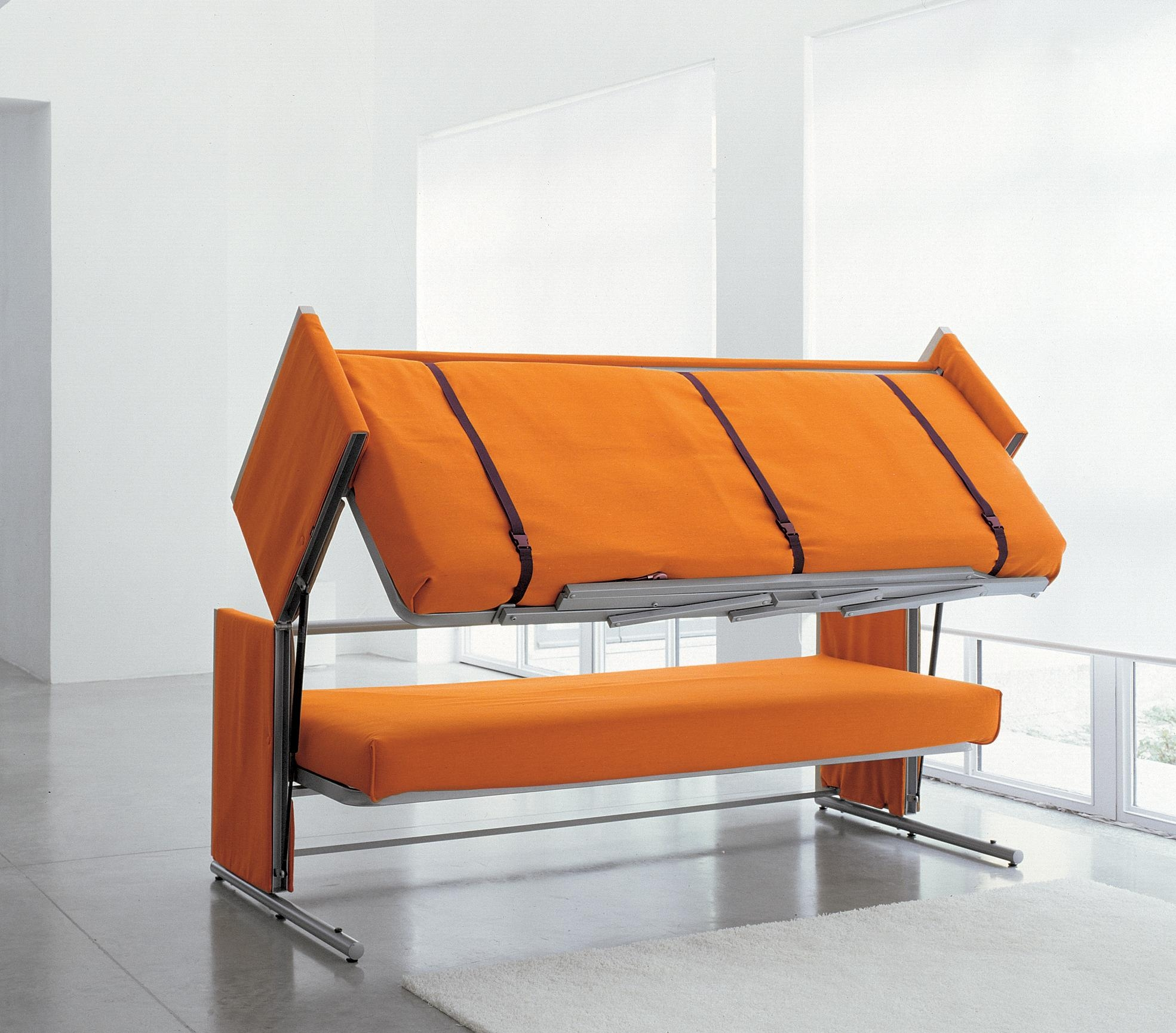 Doc A Sofa Bed That Converts In To A Bunk Bed In Two Secounds Inside Sofas Converts To Bunk Bed (Image 11 of 20)