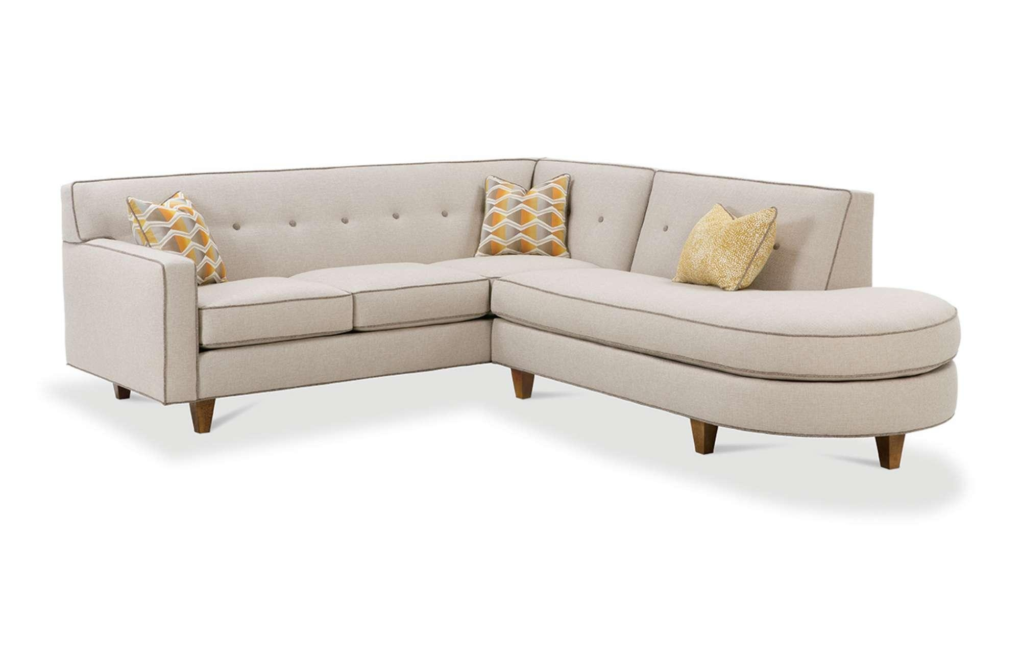 Dorset Sectionalrowe Furniture With Rowe Sectional Sofas (Image 3 of 20)