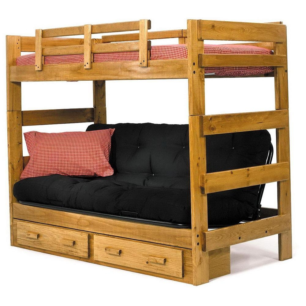 Double Bunk Bed With Sofa Underneath | Home Design Ideas Intended For Bunk Bed With Sofas Underneath (Image 13 of 20)