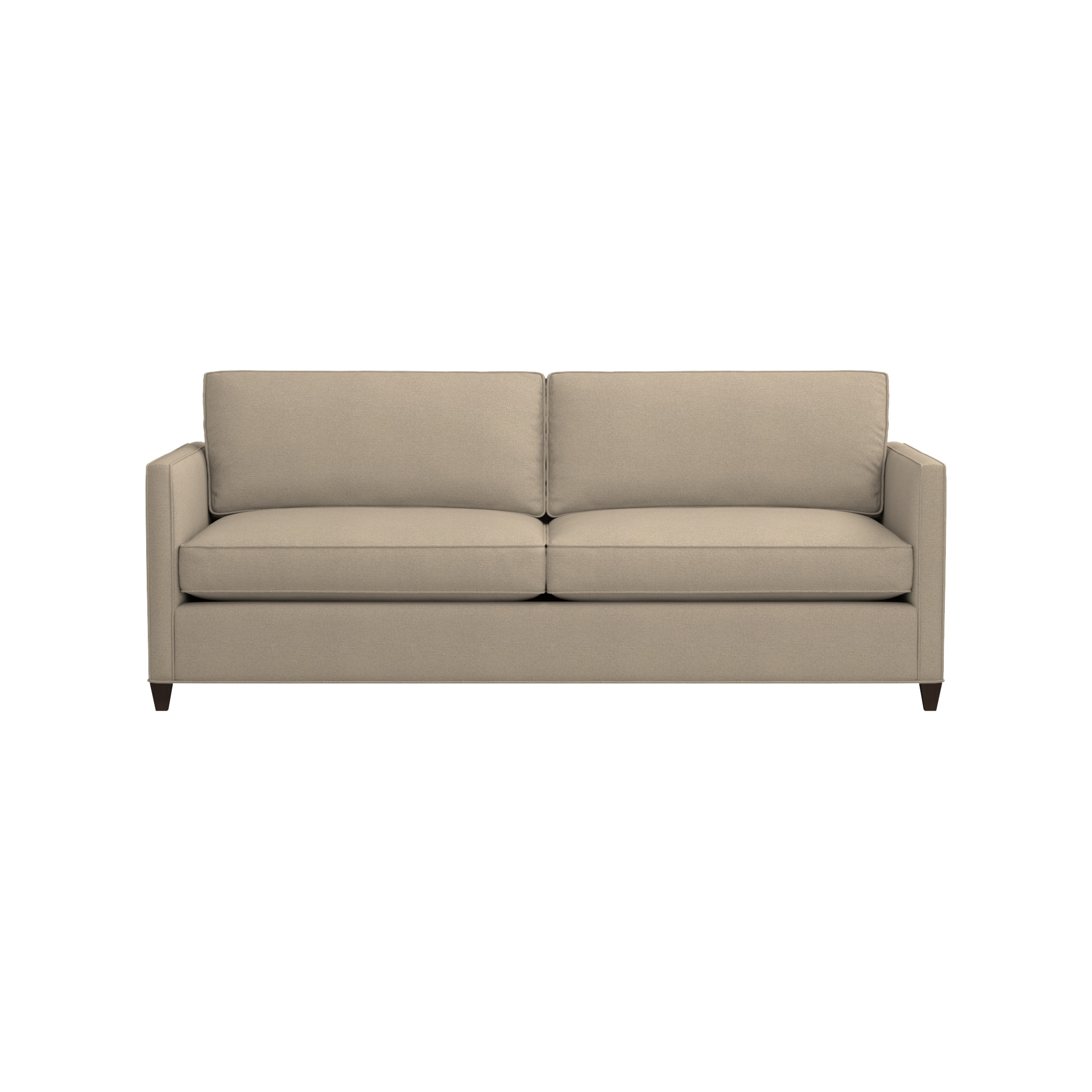 Dryden Queen Sleeper Sofa | Crate And Barrel In Crate And Barrel Sleeper Sofas (Image 8 of 20)