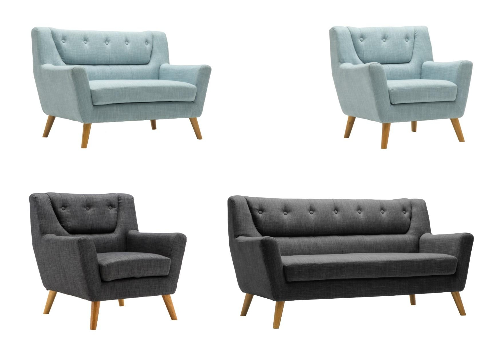 Duck Egg Blue Sofas – Leather Sectional Sofa For Large Sofa Chairs (View 12 of 20)