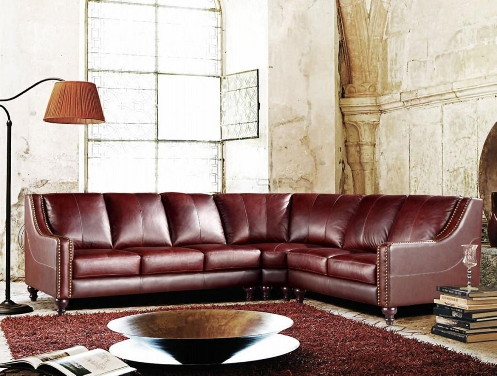 Durable Full Grain Leather Sofa — Home Design Stylinghome Design Regarding Full Grain Leather Sofas (View 11 of 20)