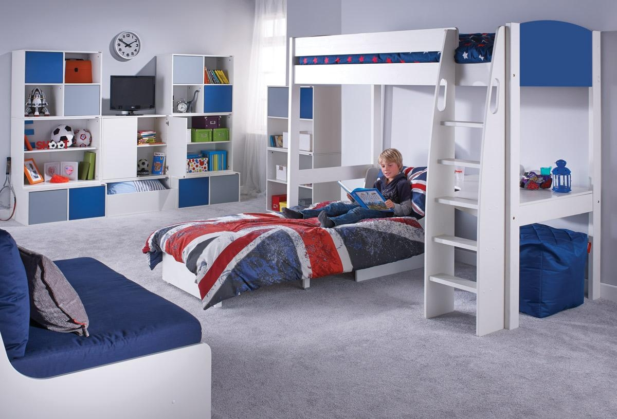 ▻ Sleeper Sofa : Integrity High Sleeper Bed With Desk And Sofa Within High Sleeper With Sofa And Desk (Image 1 of 20)