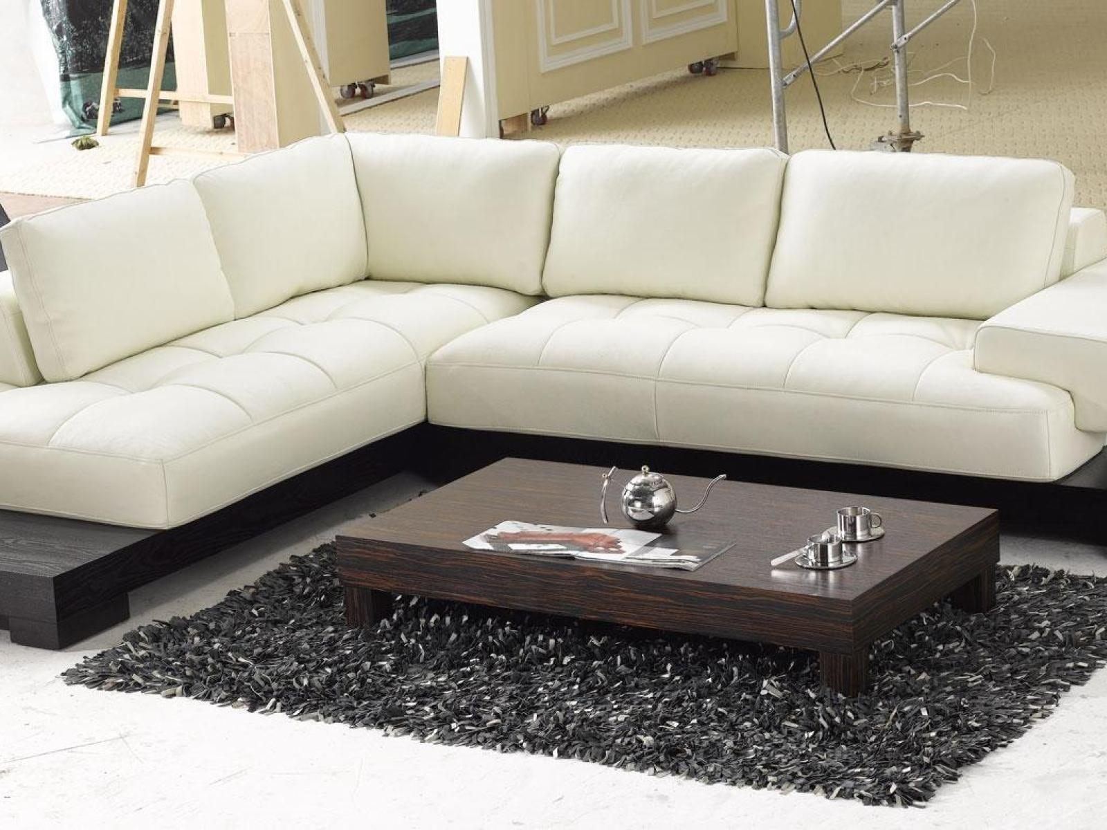 ▻ Sofa : 11 Lovely Contemporary Leather Couch Beige Leather With Regard To Beige Leather Couches (Image 1 of 20)