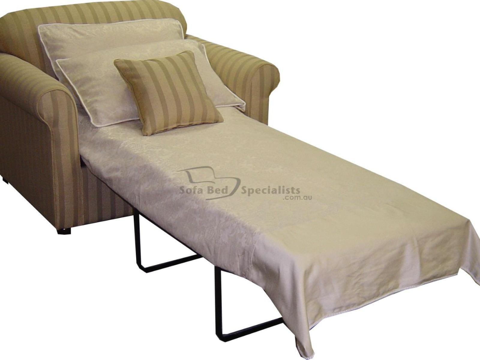 Sofa : 13 Attractive Single Sofa Sleeper Stunning Home With Regard To Single  Sofa Bed