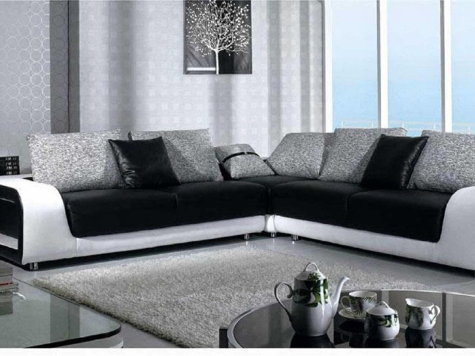 ▻ Sofa : 14 Black Couch Black And White Couch With 89 Wonderful Intended For Black And White Sofas (View 13 of 20)