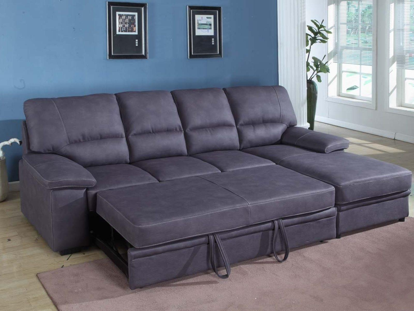 ▻ Sofa : 14 Brilliant Sectional Sleeper Sofa With Chaise Cool Throughout Sectional Sleeper Sofas With Chaise (Image 2 of 20)