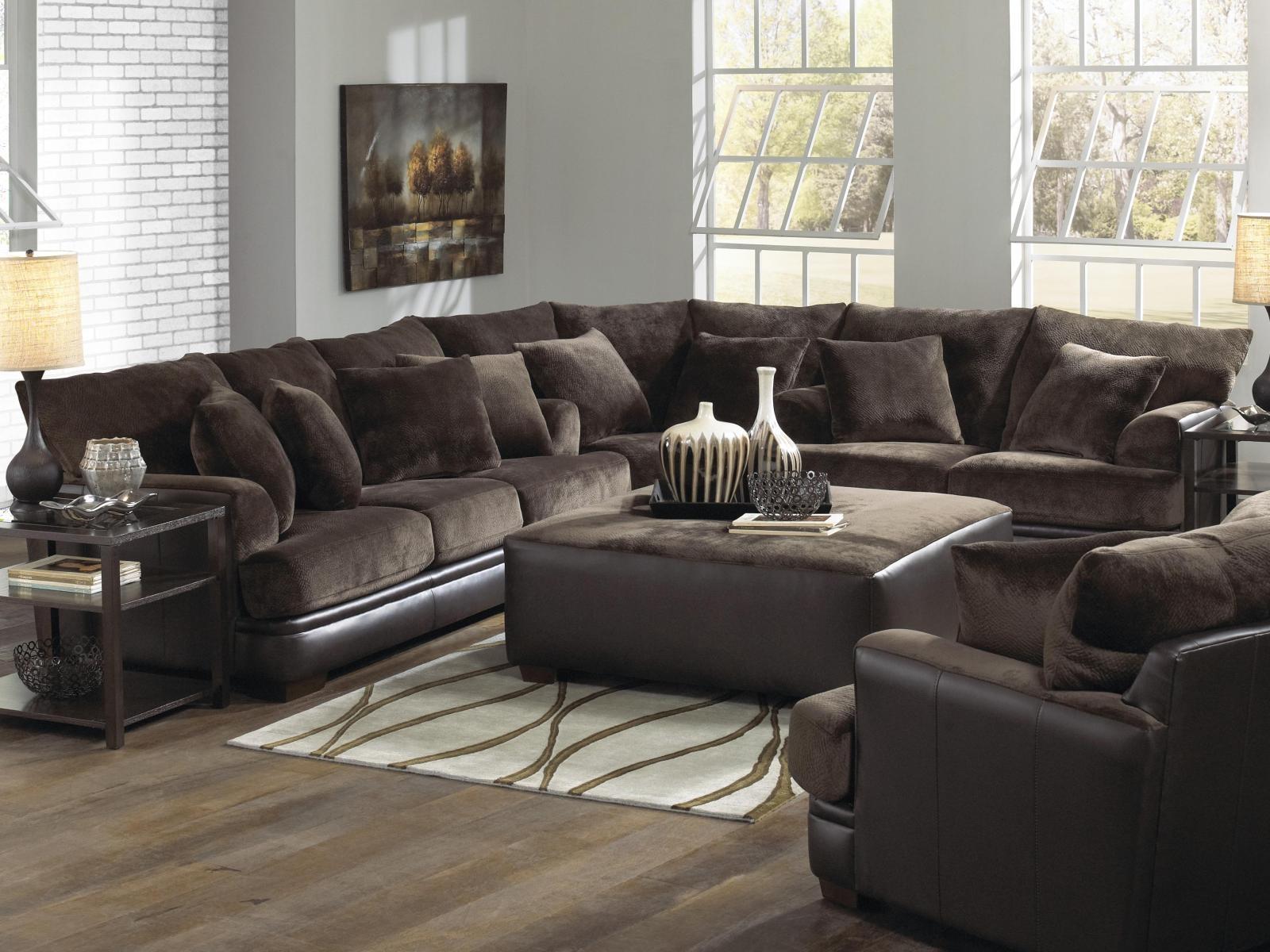 ▻ Sofa : 14 Wonderful Large Sofa Wonderful Large Sectional Sofas Within Large Sofa Sectionals (Image 1 of 20)