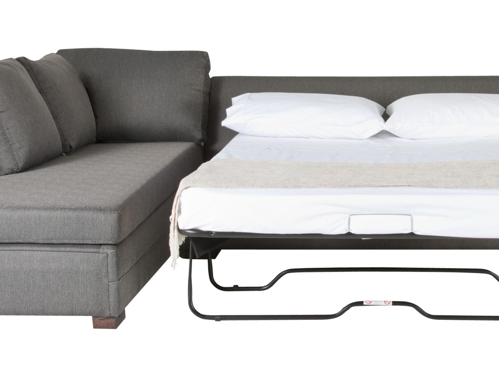 ▻ Sofa : 15 Leather Sectional Sleeper Sofa With Chaise Sleeper In Ikea Sleeper Sofa Sectional (Image 1 of 20)