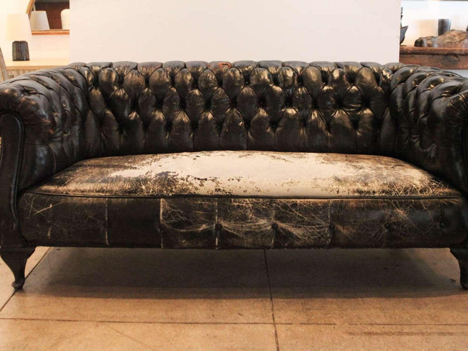 ▻ Sofa : 2 Lovely Used Chesterfield Sofa Leather Chesterfield Throughout Small Chesterfield Sofas (View 14 of 20)