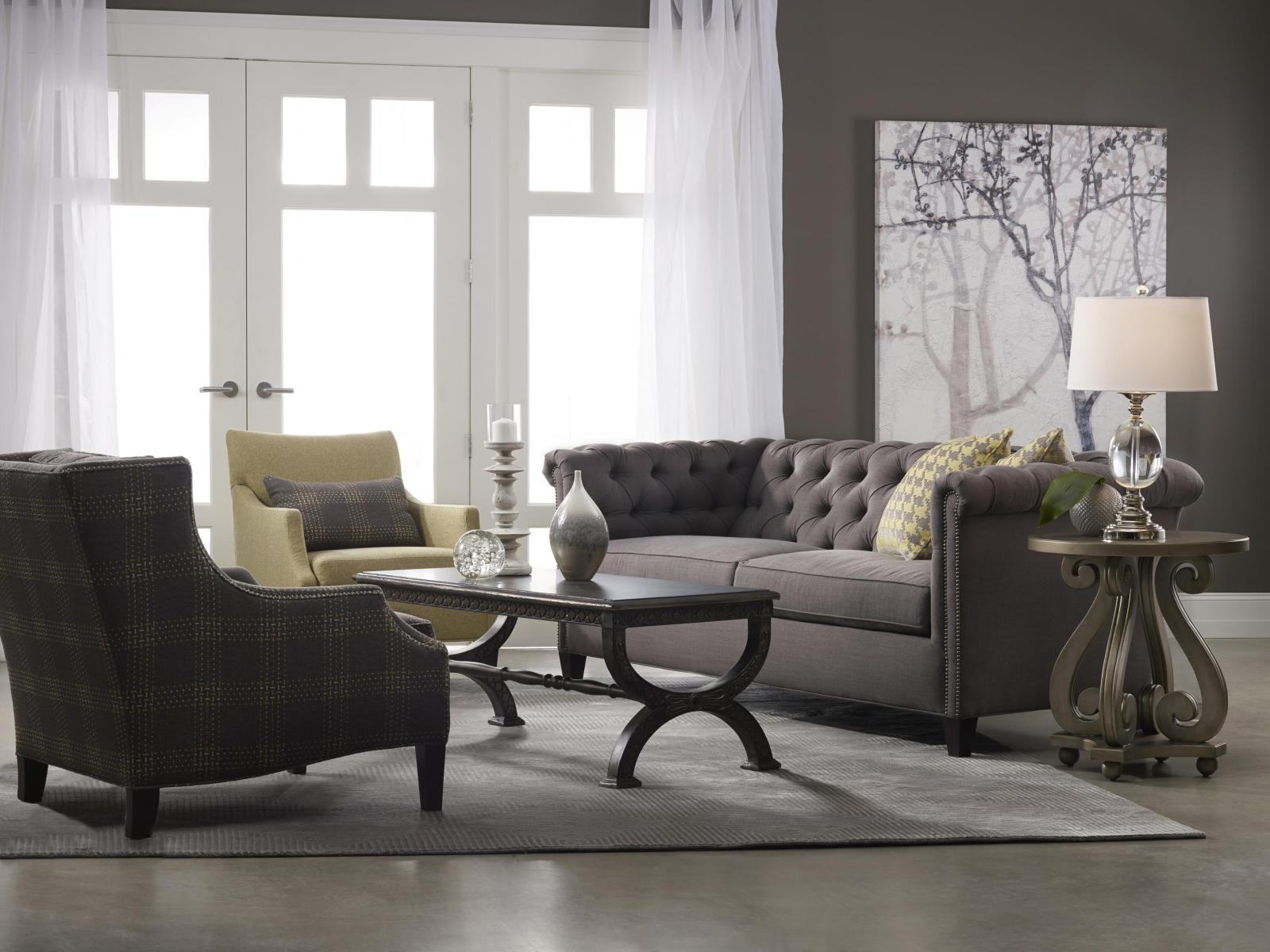 ▻ Sofa : 28 Amax Nebraska Chesterfield Genuine Leather Sofa Inside Chesterfield Sofa And Chairs (View 20 of 20)