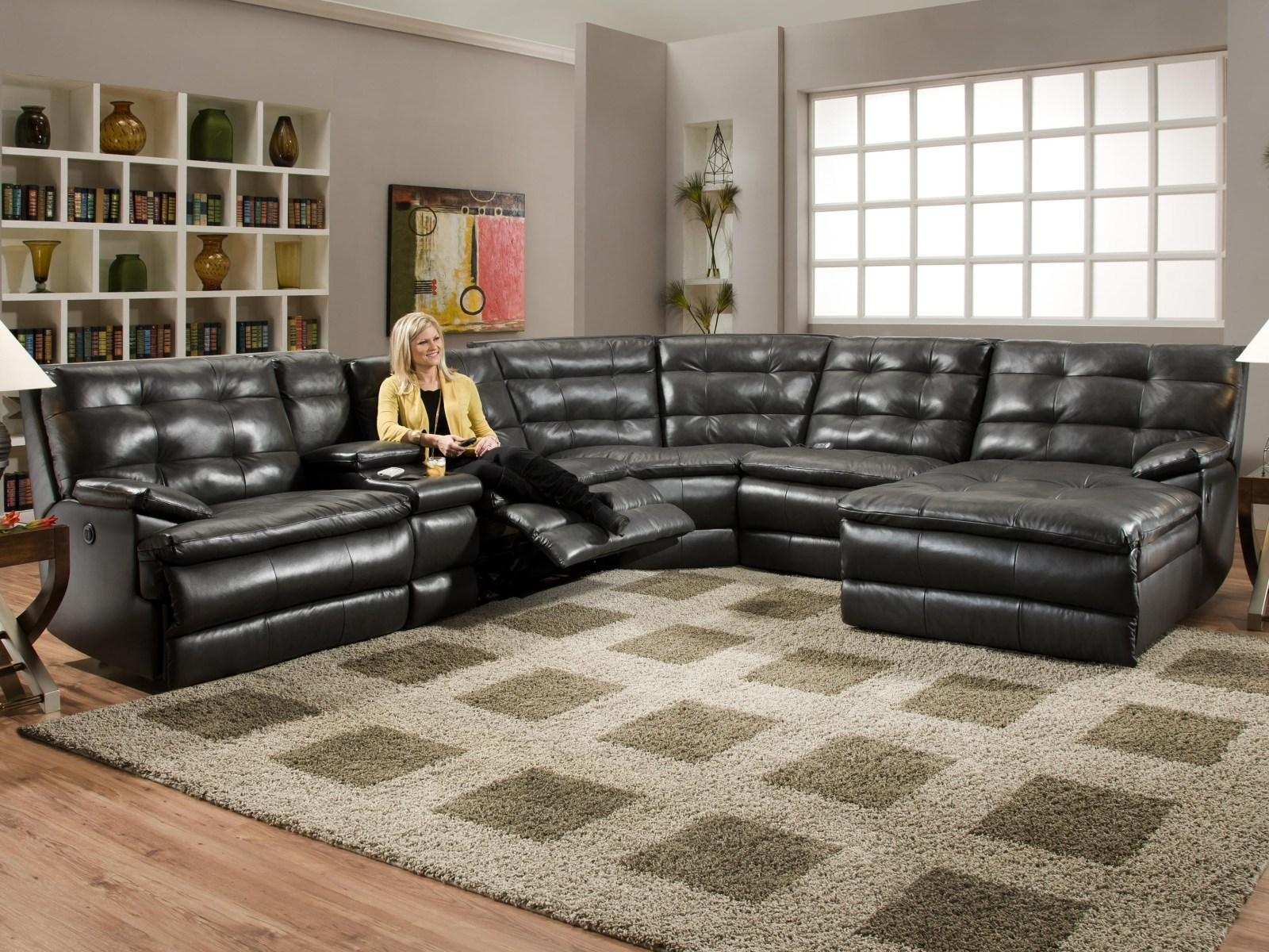 ▻ Sofa : 29 Good Looking Large Sectional Sofa With Chaise Lounge Pertaining To Large Sofa Sectionals (Image 2 of 20)