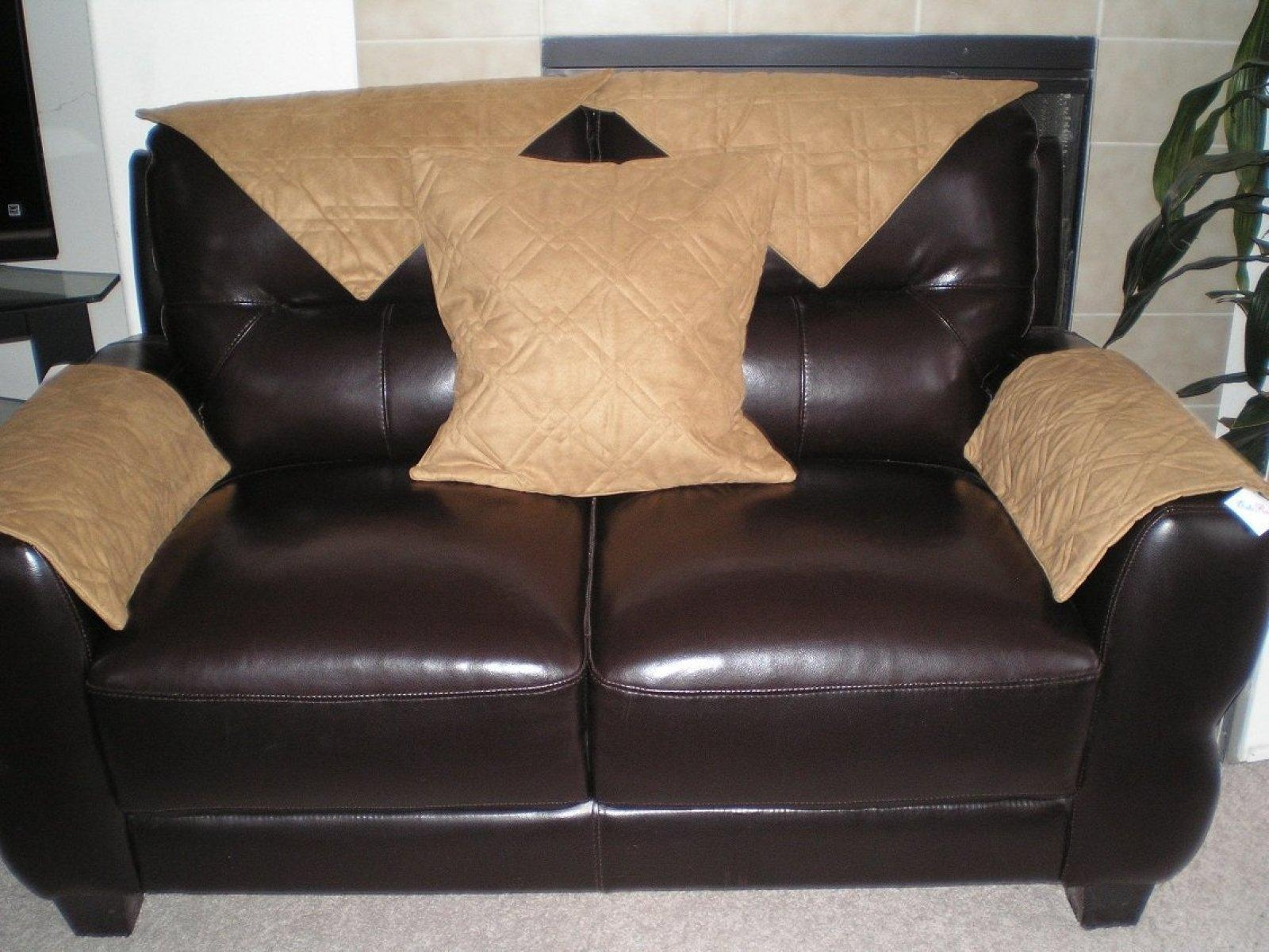 ▻ Sofa : 29 Wonderful Couch Covers For Leather Sofa How To Make A In Slipcover For Leather Sofas (Image 2 of 20)