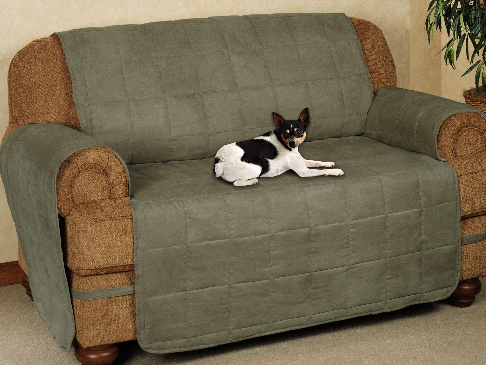 ▻ Sofa : 4 Decoration How To Keep A Slipcover On A Leather Sofa Inside Slipcover For Leather Sofas (View 20 of 20)
