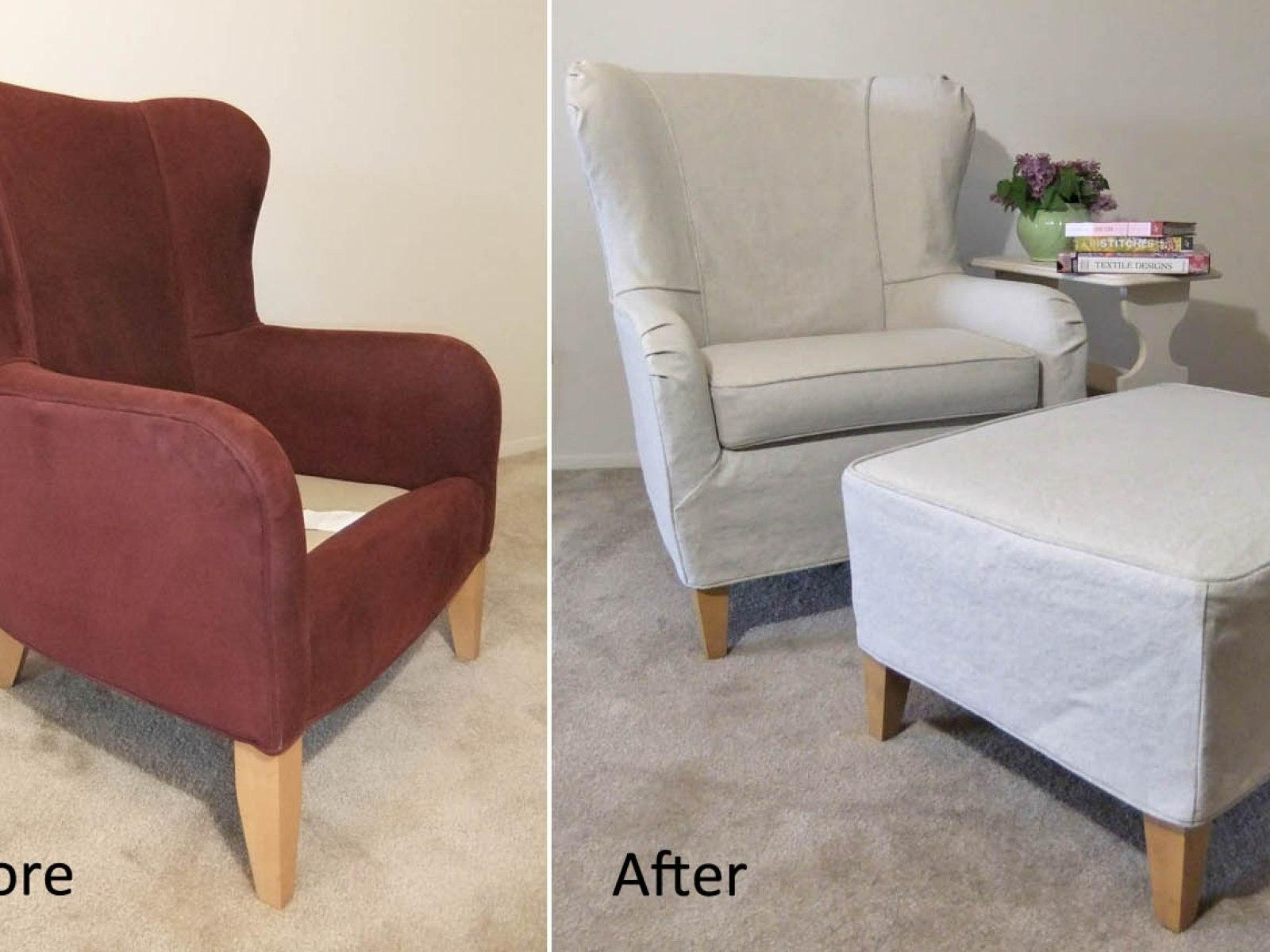 ▻ Sofa : 7 Lovely Sofa Using Grey Surefit Target Couches Inside Slipcovers For Chairs And Sofas (Image 1 of 20)