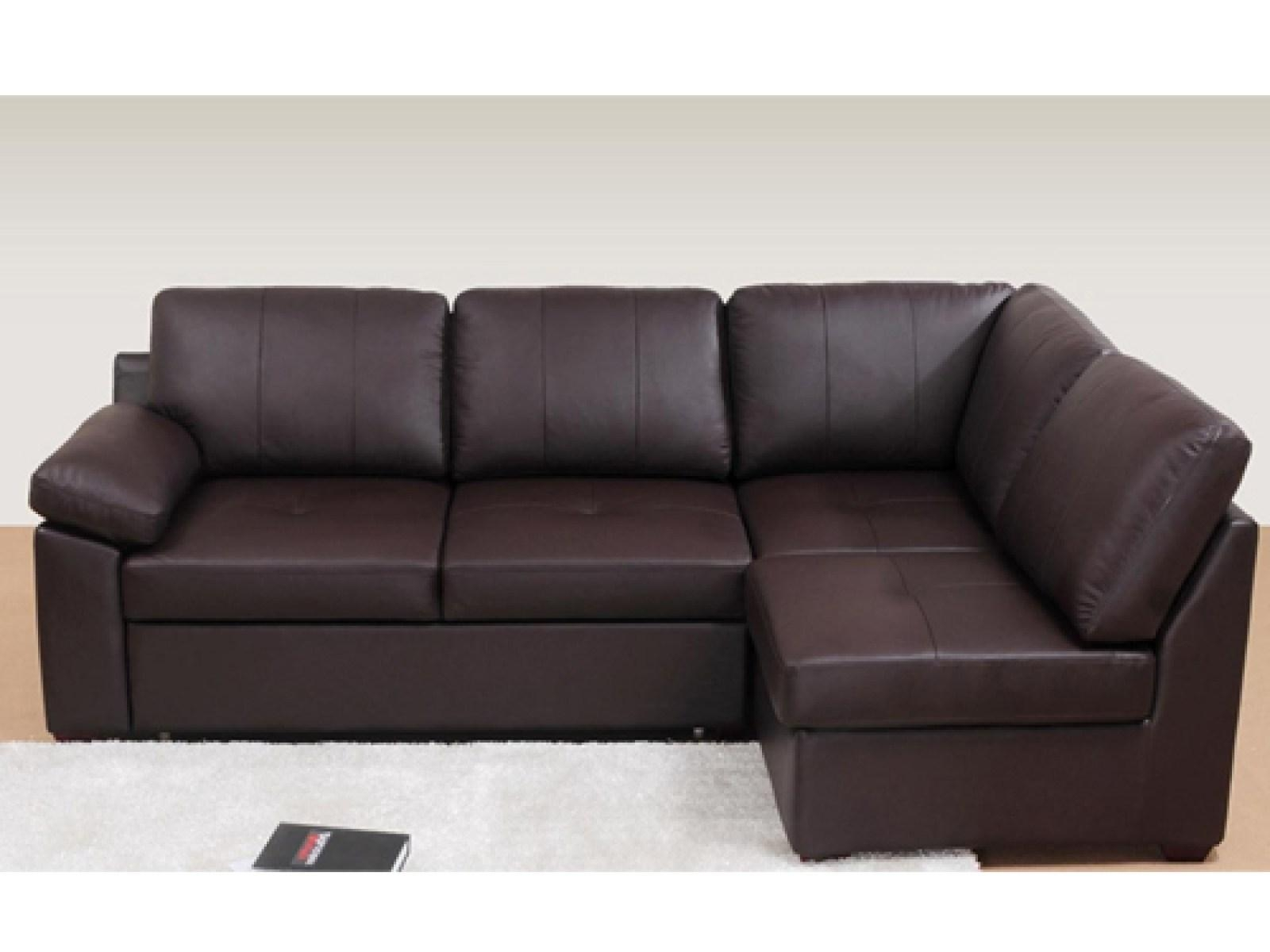 ▻ Sofa : 8 Leather Corner Sofa Bed Wonderful Leather Corner Sofa Intended For Leather Corner Sofa Bed (Image 1 of 20)