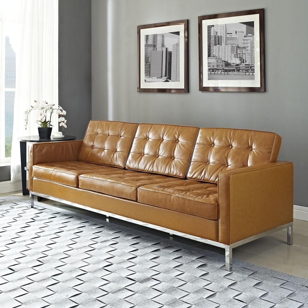 ☆▻ Sofa : 4 Lovely Chesterfield Sofa In Square As Gorgeous Black Throughout Tufted Leather Chesterfield Sofas (Image 3 of 20)