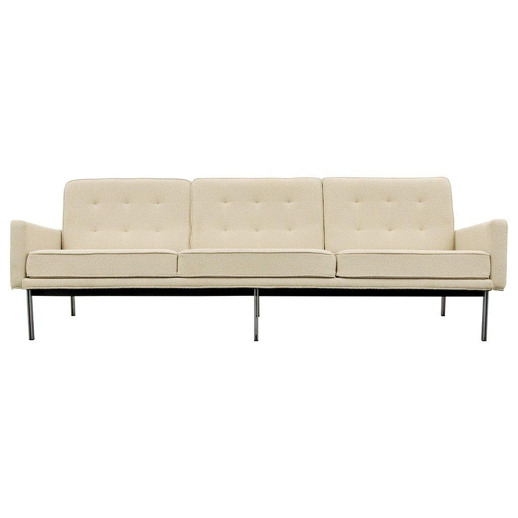 "Early Florence Knoll ""parallel Bar"" Sofa, Circa 1960 At 1Stdibs For Florence Knoll Fabric Sofas (Image 4 of 20)"