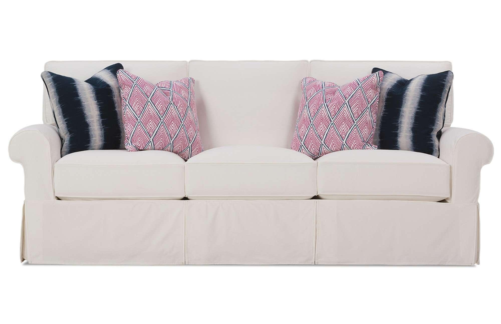 Easton Slipcover Sofarowe Furniture In Rowe Slipcovers (Image 6 of 20)