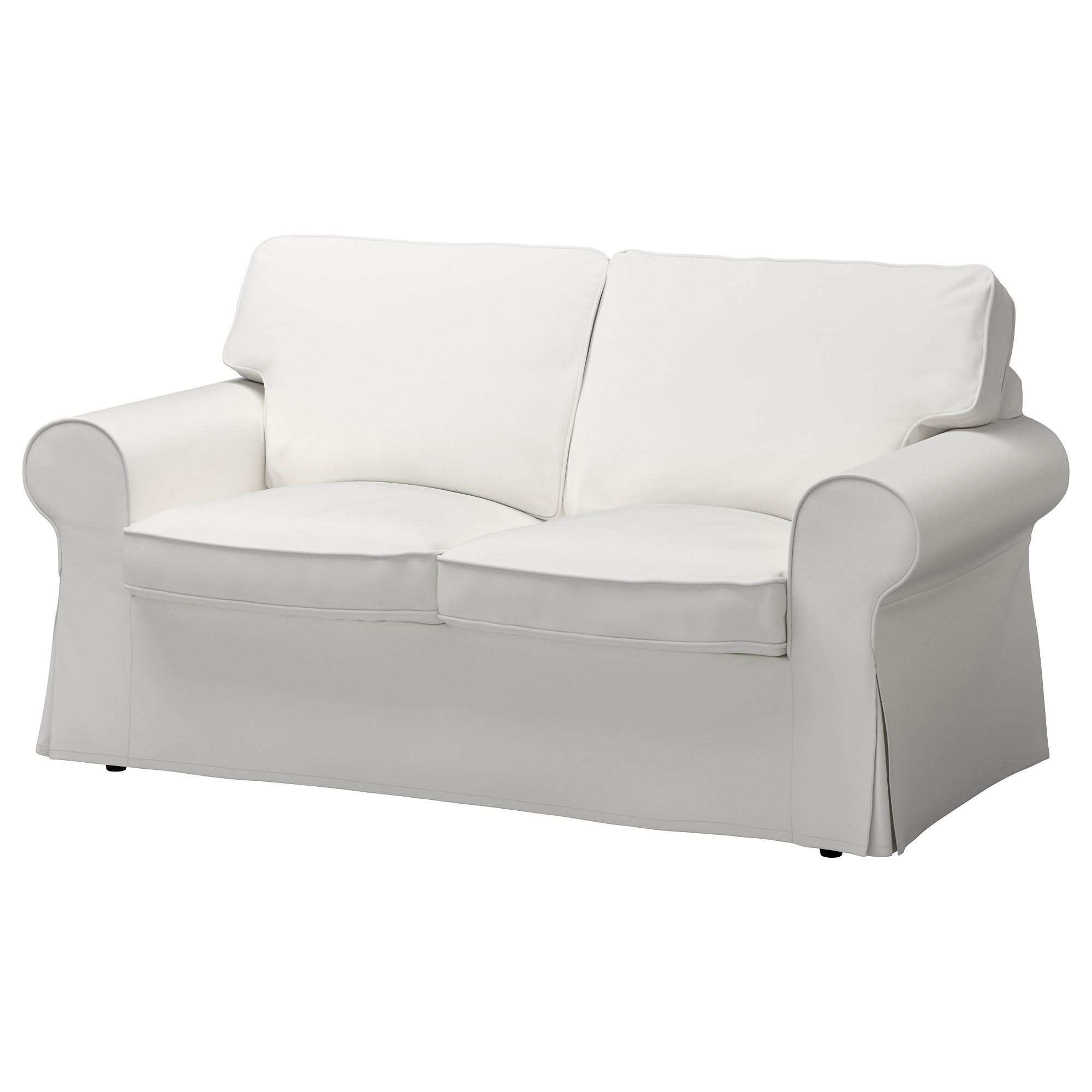 Ektorp Loveseat Cover – Nordvalla Dark Gray – Ikea Inside Sofas With Removable Covers (Image 7 of 20)