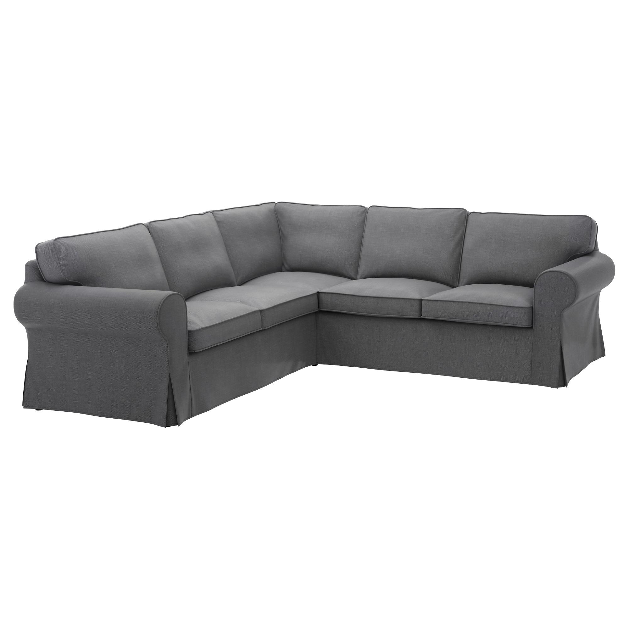Ektorp Sectional, 4 Seat Corner – Lofallet Beige – Ikea For 2 Seat Sectional Sofas (Image 3 of 15)