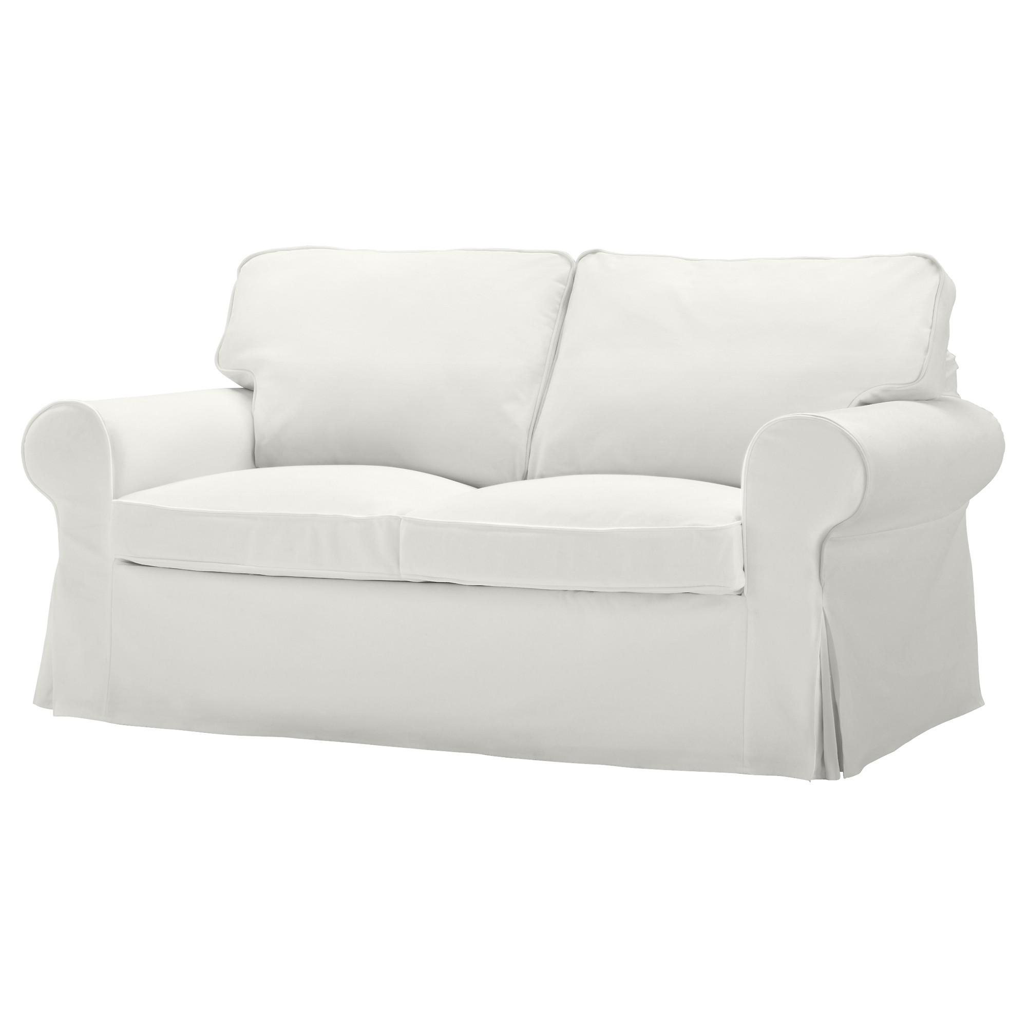 Ektorp Two-Seat Sofa Blekinge White - Ikea throughout Ikea Two Seater Sofas