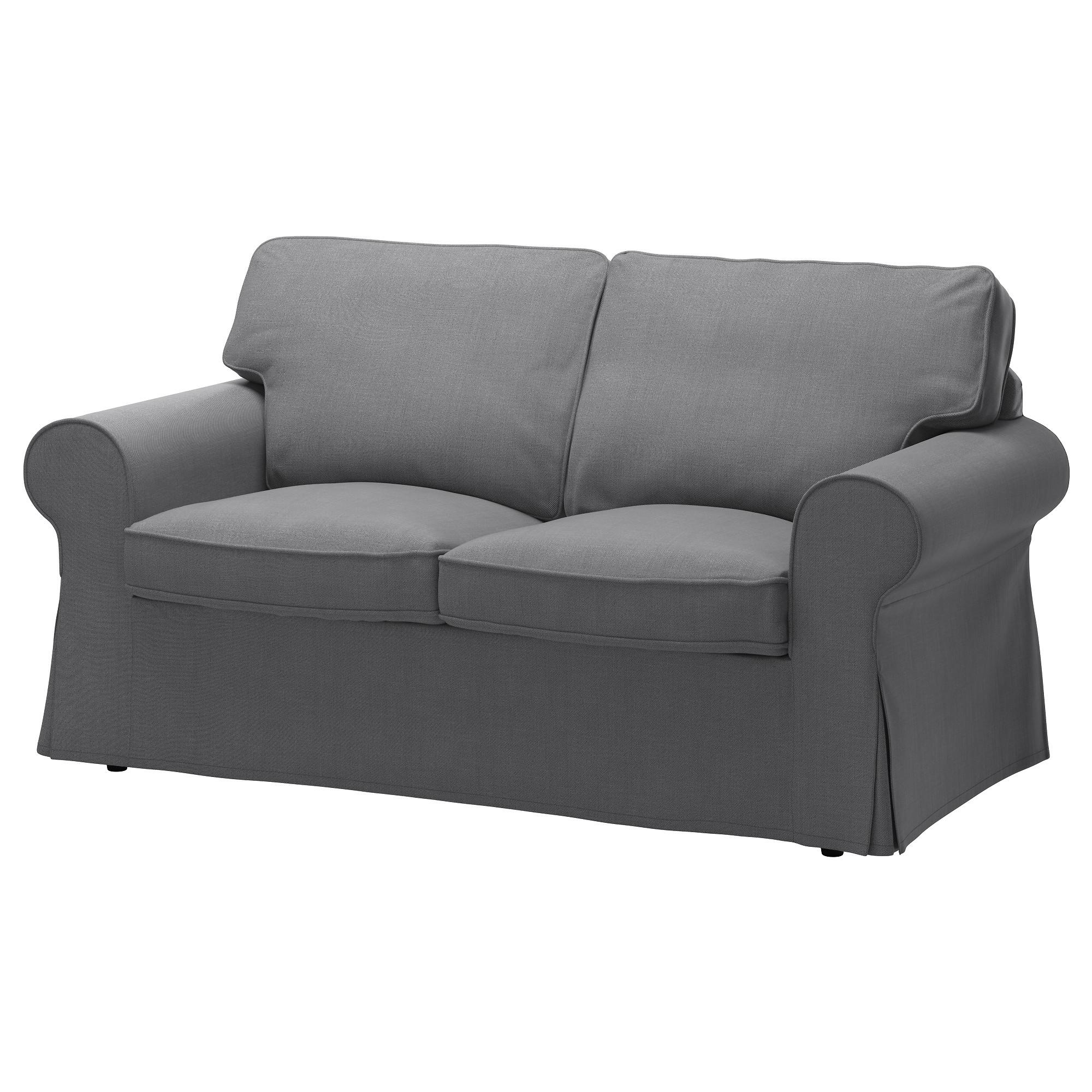 Ektorp Two Seat Sofa Nordvalla Dark Grey – Ikea Pertaining To Ikea Two Seater Sofas (View 2 of 20)