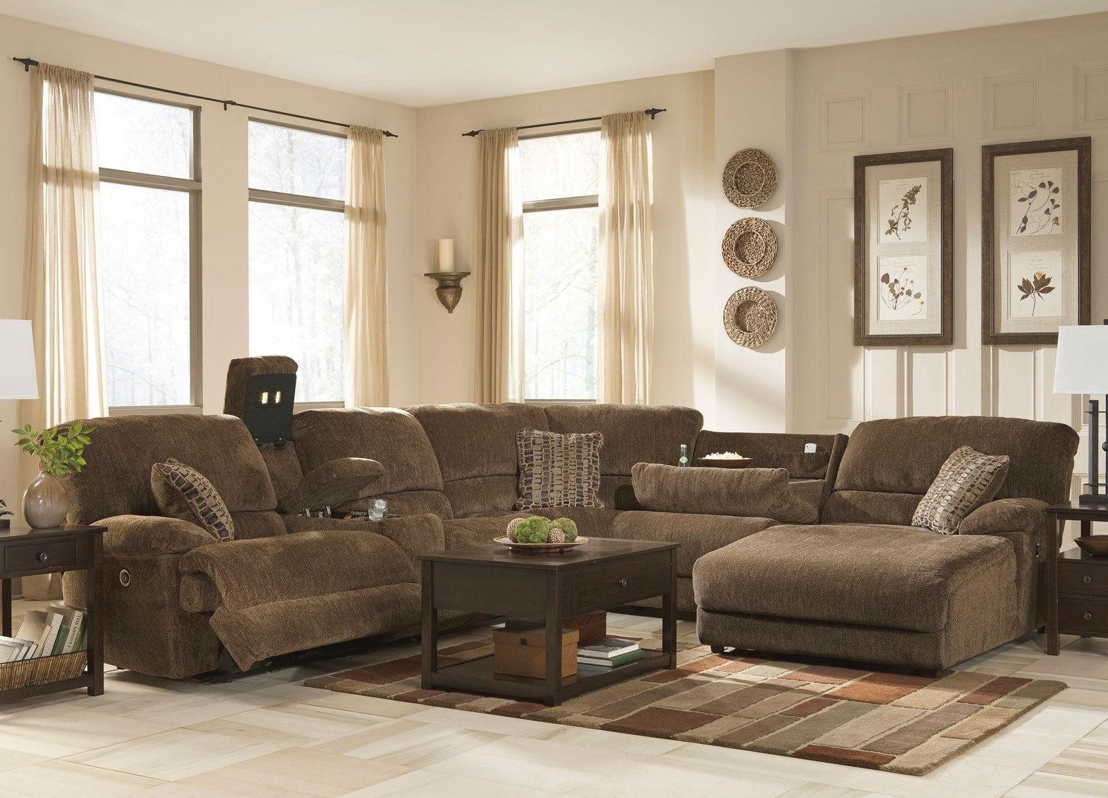 Elegant Chenille Sectional Sofa 96 For Sofas And Couches Ideas Regarding Chenille Sectionals (View 5 of 15)