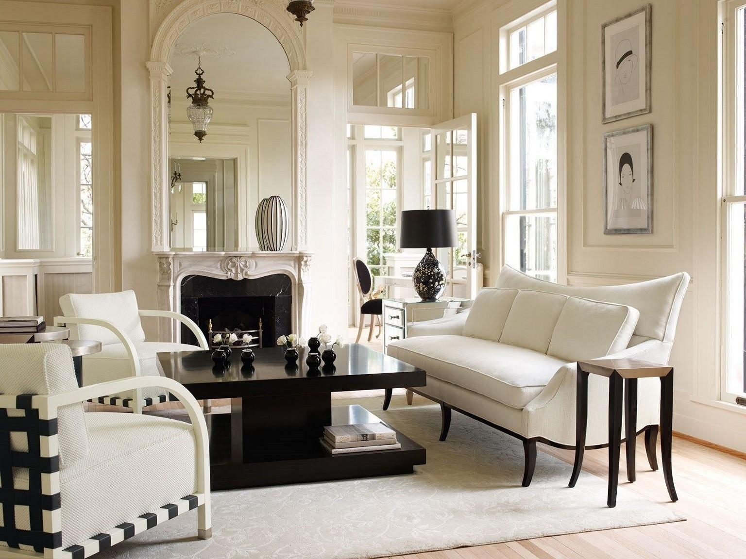 Elegant Furniture For Living Room Throughout Elegant Sofas And Chairs (View 18 of 20)