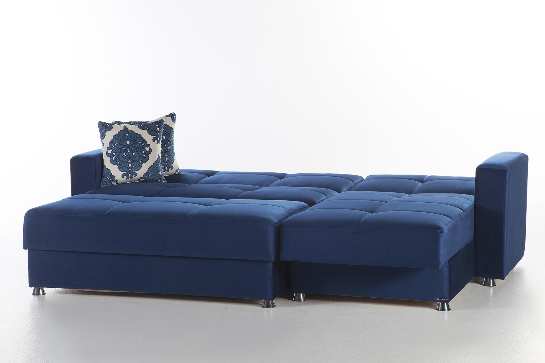 Elegant Roma Navy Sectional Sofasunset Pertaining To Elegant Sectional Sofa (Image 6 of 15)