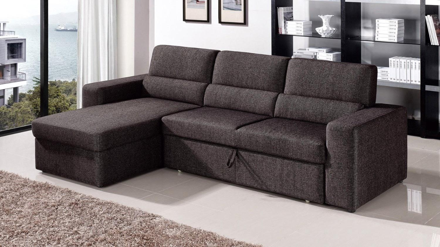 Elegant Sectional Sofa With Pull Out Sleeper 60 In Sofa Sleeper In Sleeper Sofas San Diego (View 11 of 20)