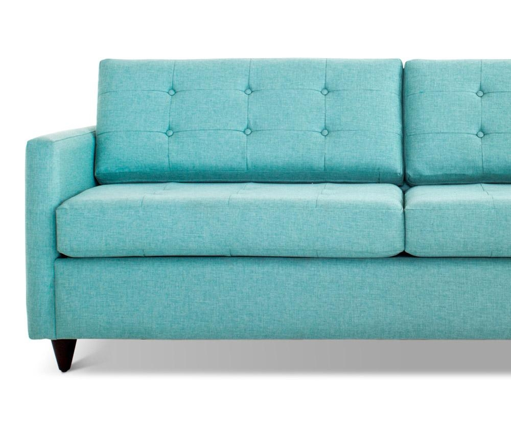 Eliot Sleeper Sofa | Joybird Inside Aqua Sofa Beds (Image 8 of 20)