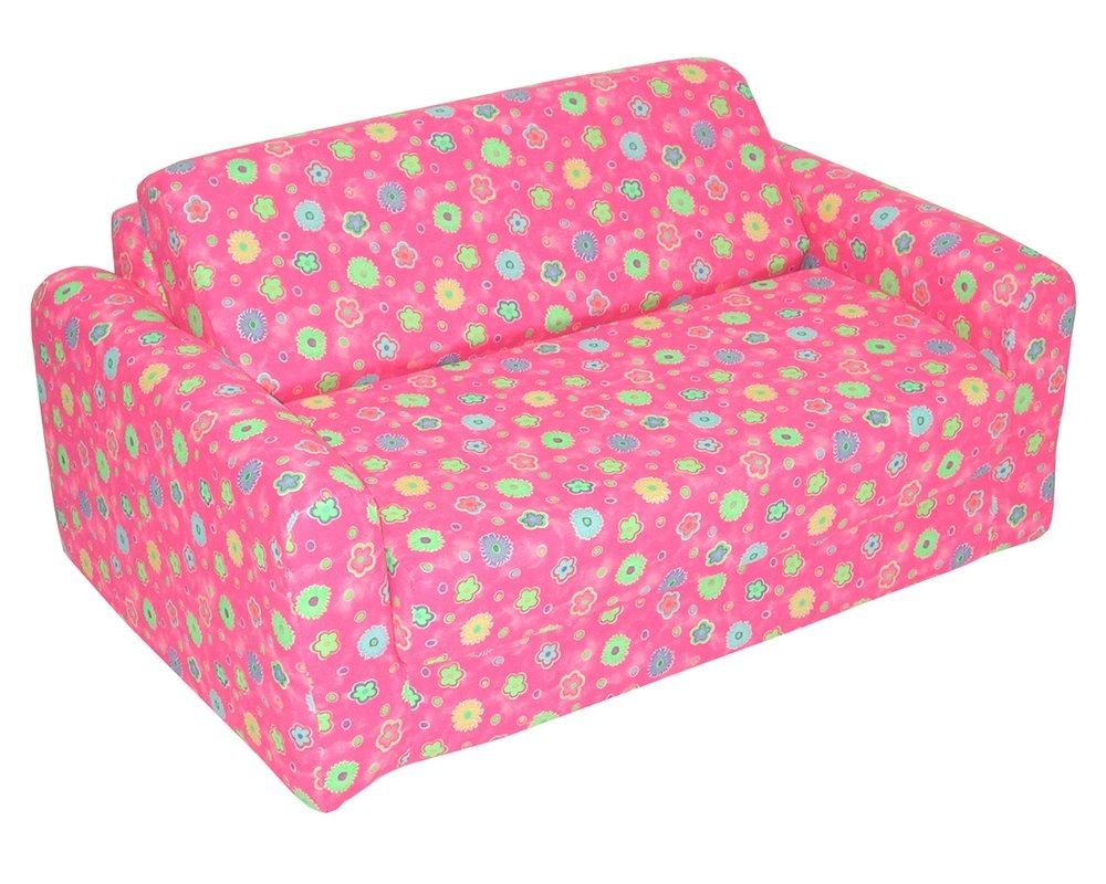 Elite Products Junior Fx Children's Sofa Sleeper & Reviews | Wayfair Within Childrens Sofa Chairs (Image 5 of 20)