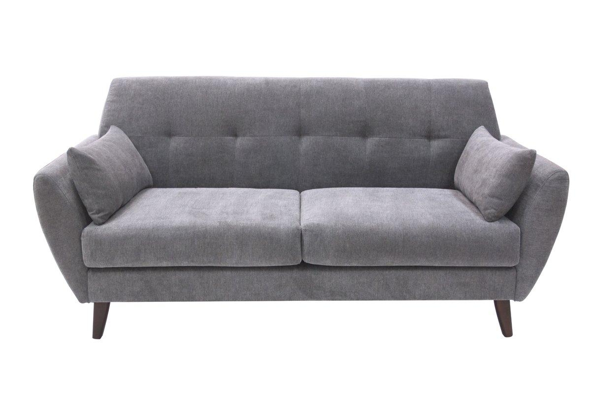 Elle Decor Amelie Mid Century Modern Sofa & Reviews | Wayfair Within Danish Modern Sofas (Image 9 of 20)