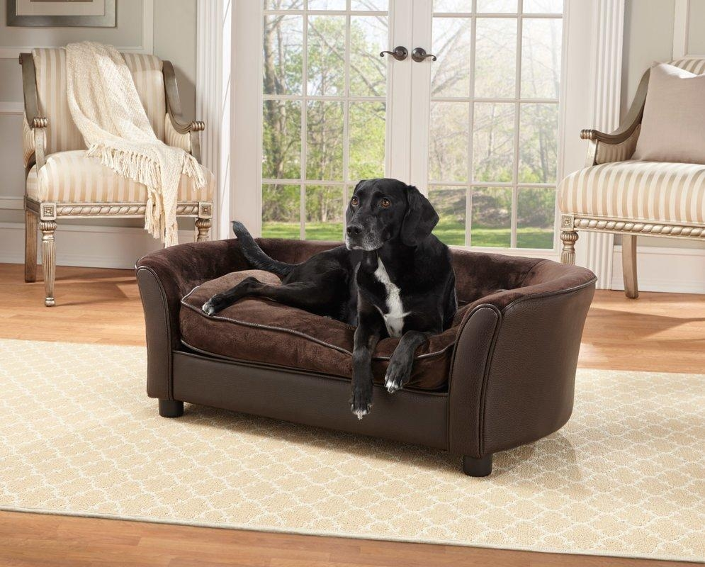 Enchanted Home Pet Panache Dog Sofa & Reviews   Wayfair Within Dog Sofas And Chairs (Image 7 of 20)