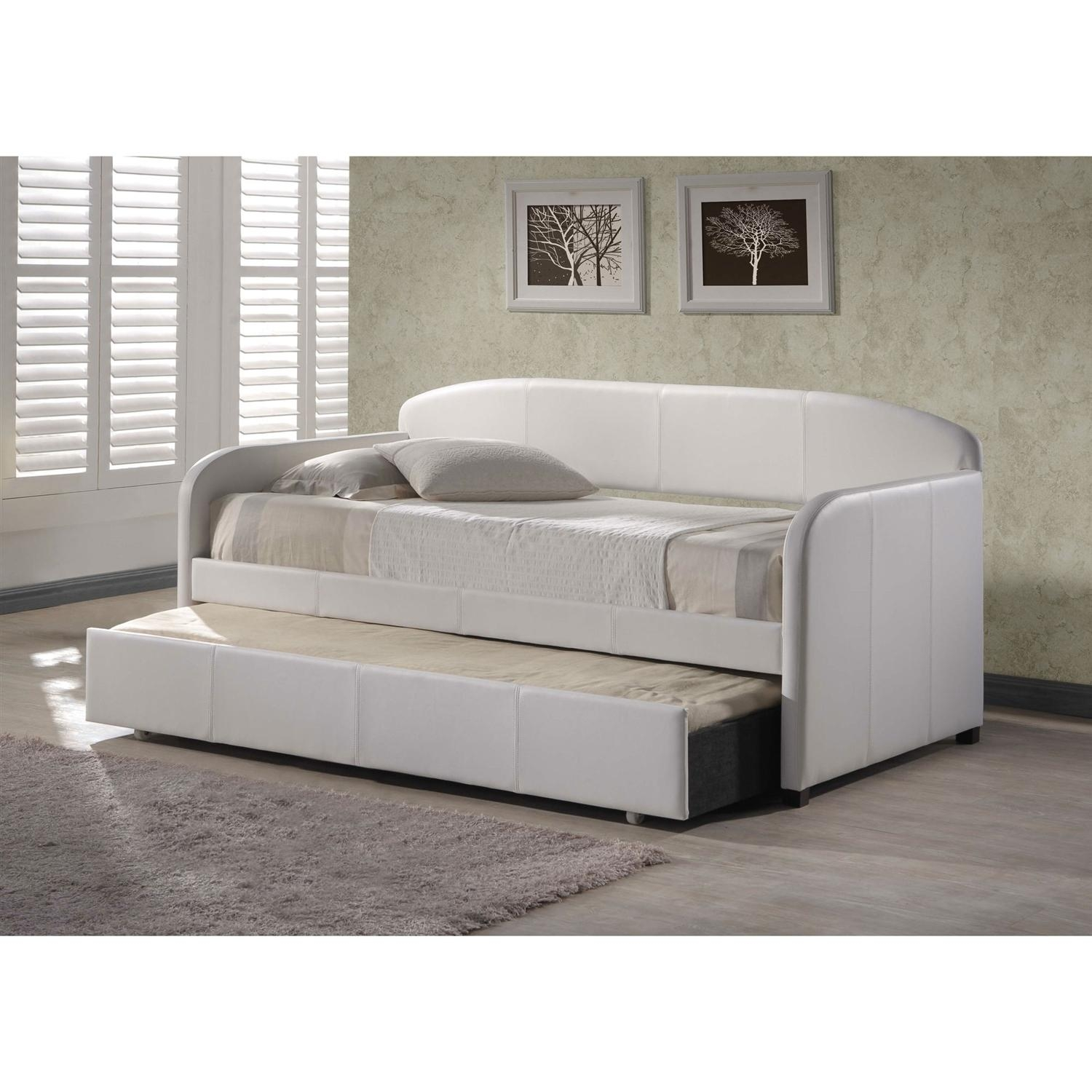 Endearing Twin Daybed Frame With Pop Up Trundle Pop Up Daybed Within Sofas Daybed With Trundle (Image 7 of 20)