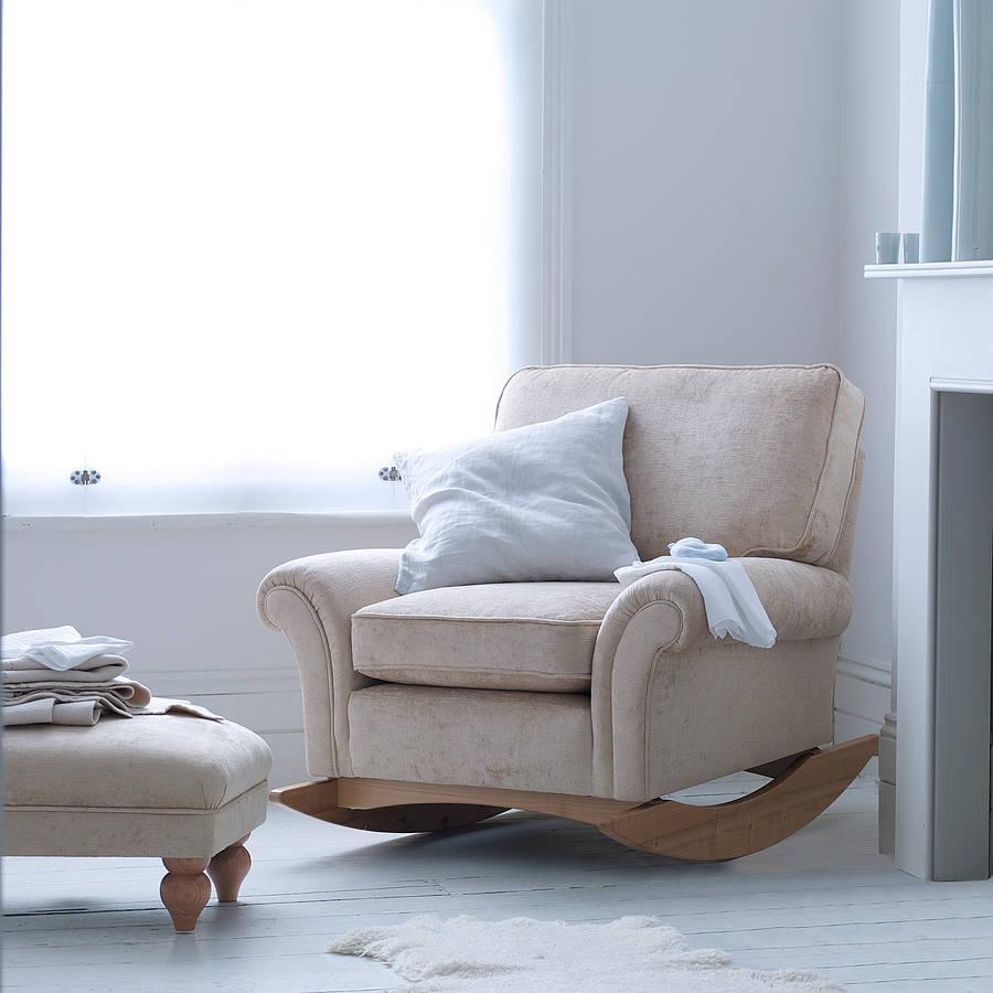 Enjoy Rocking Sofa Chair Nursery | Editeestrela Design Inside Sofa Rocking Chairs (Image 1 of 20)
