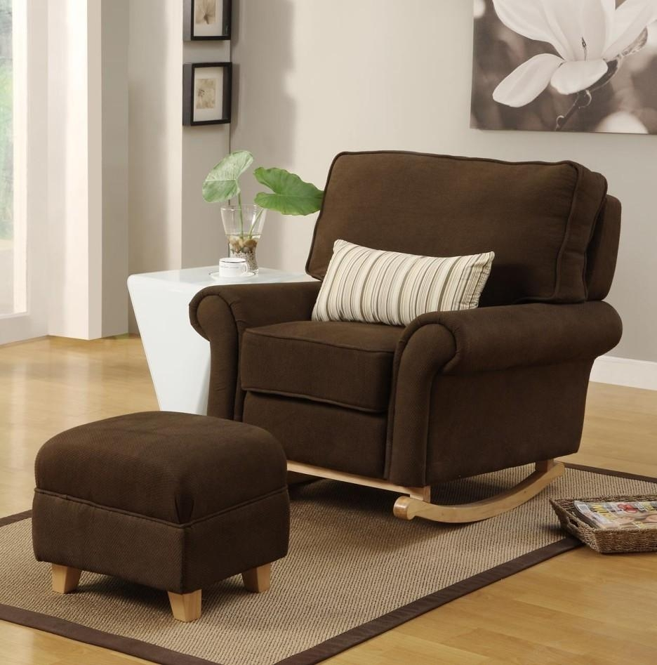 Enjoy Rocking Sofa Chair Nursery | Editeestrela Design With Sofa Rocking Chairs (Image 3 of 20)